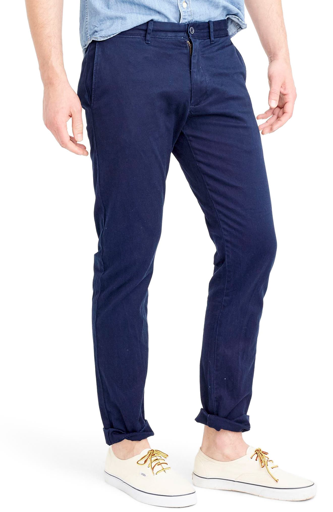 484 Slim Fit Stretch Chino Pants,                             Alternate thumbnail 31, color,