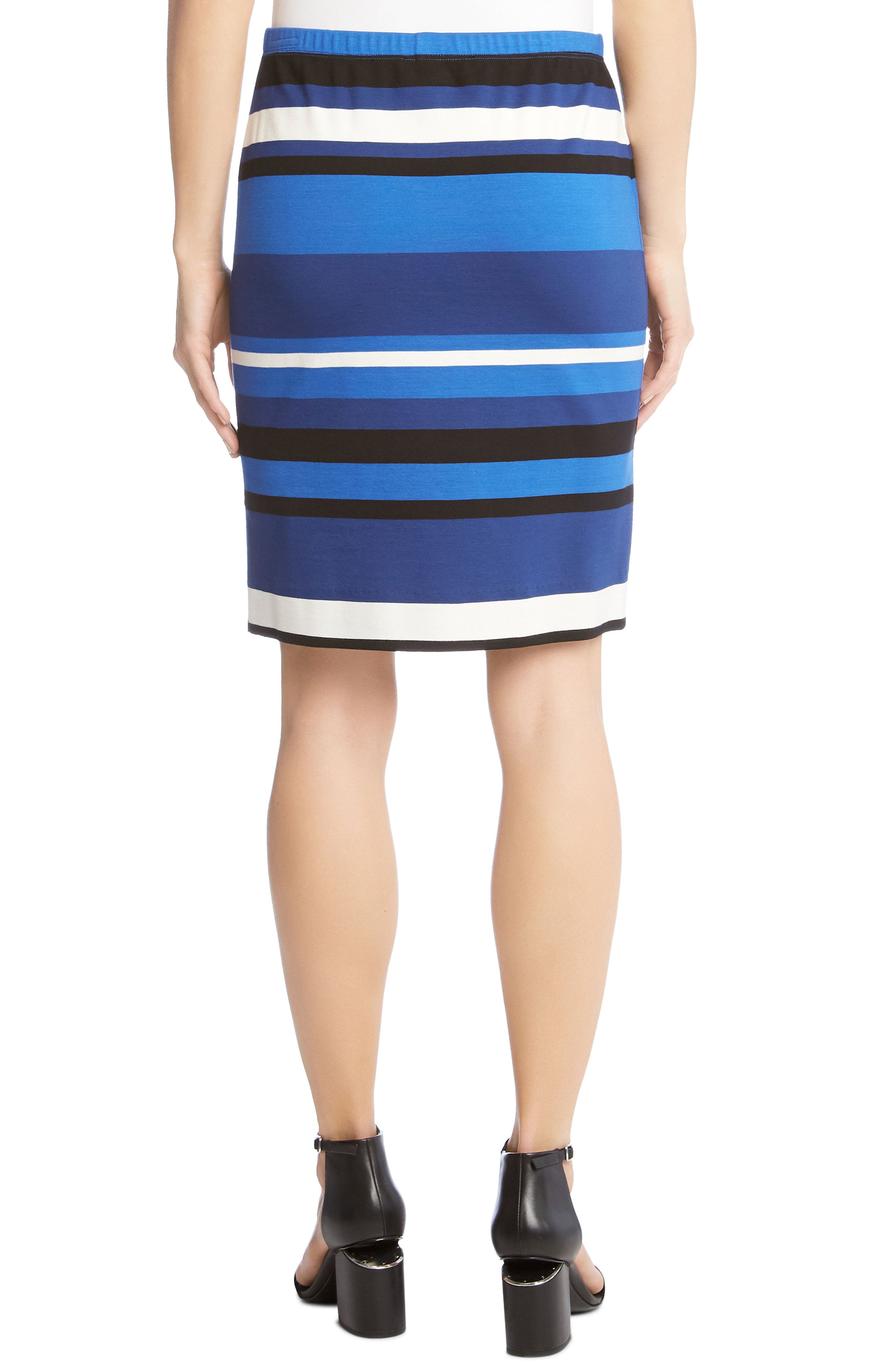 Modern Stripe Skirt,                             Alternate thumbnail 2, color,                             489
