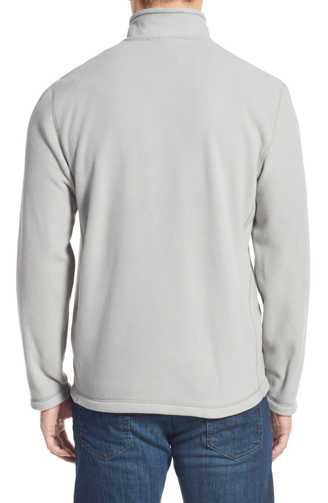 'TKA 100 Glacier' Quarter Zip Fleece Pullover,                             Alternate thumbnail 206, color,