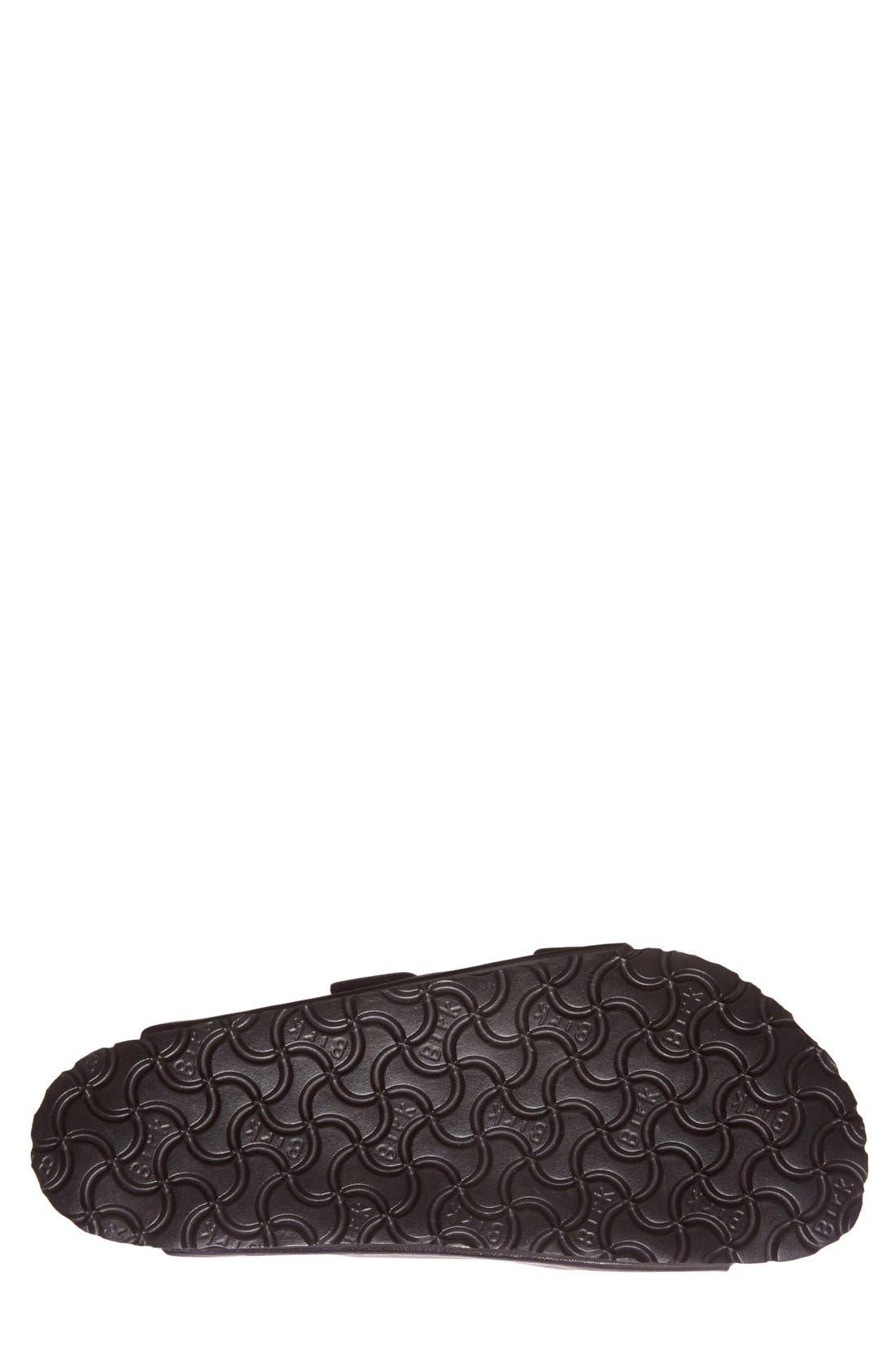 BIRKENSTOCK,                             'Arizona' Slide Sandal,                             Alternate thumbnail 5, color,                             BLACK