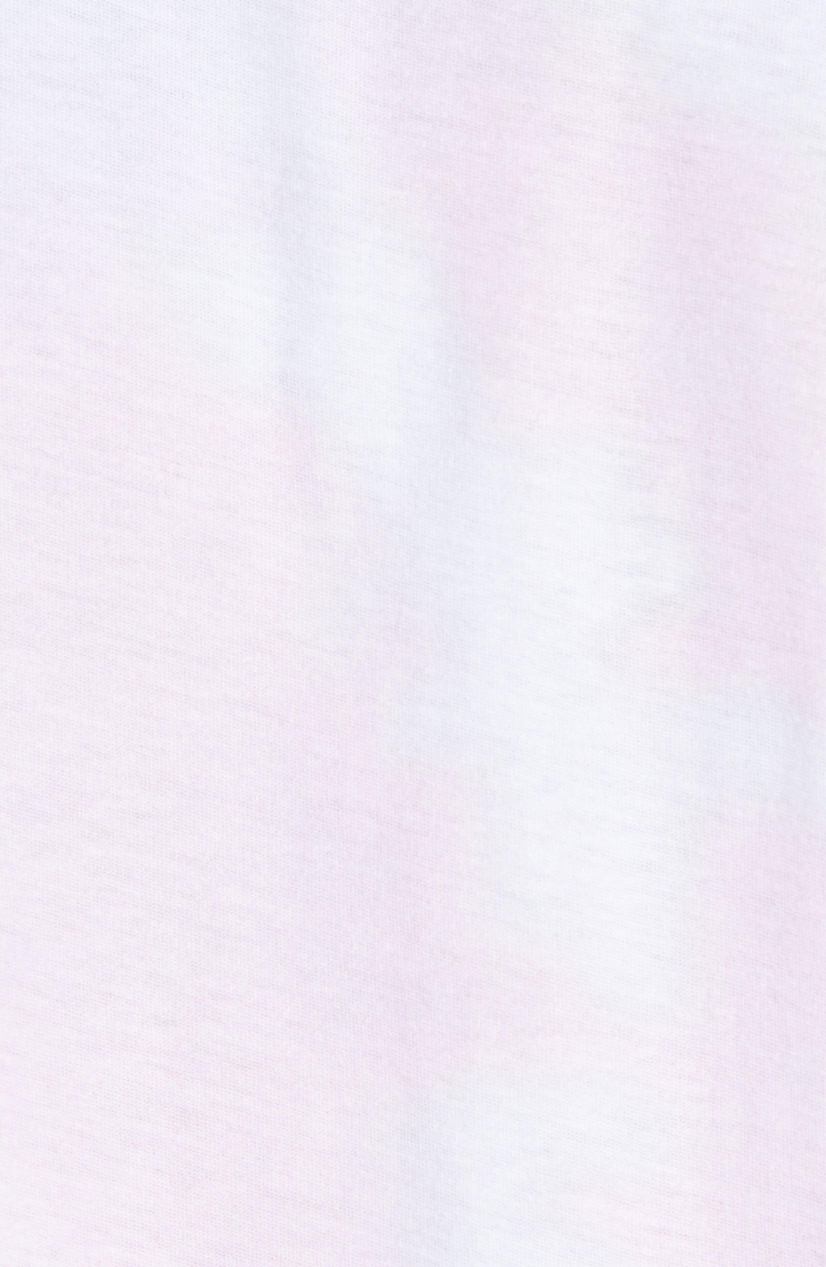 Reverse Tie Dye T-Shirt,                             Alternate thumbnail 5, color,                             100