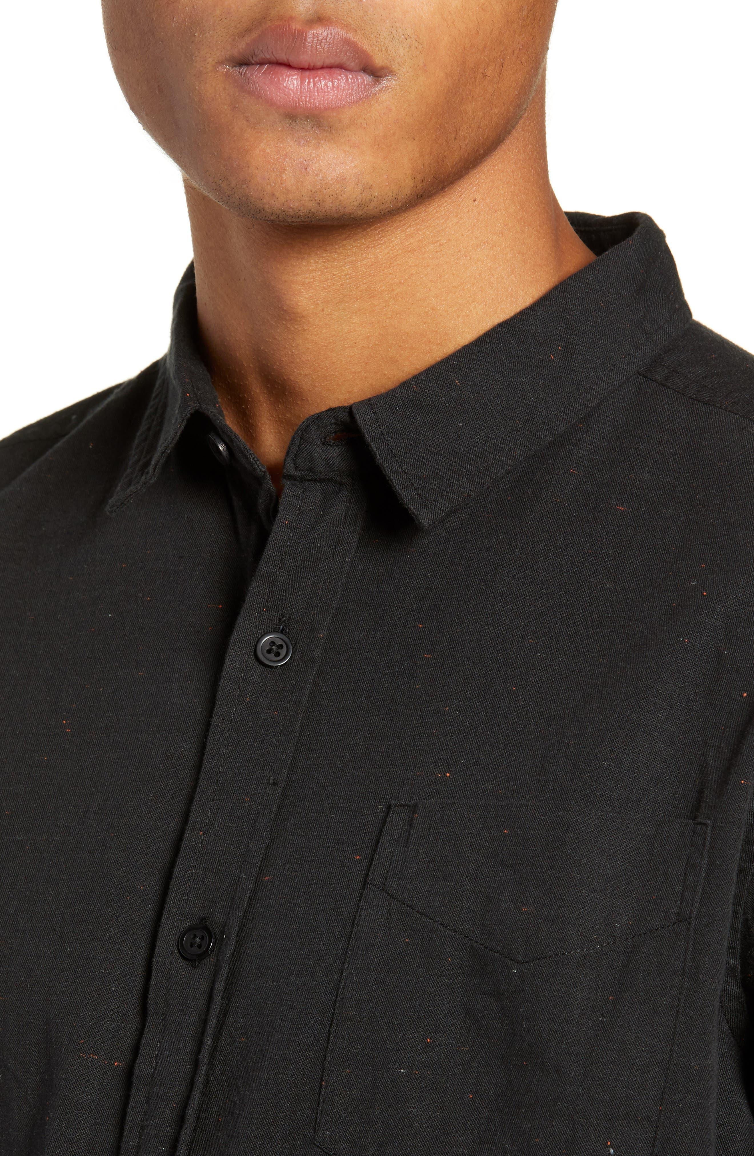 Goodstock Long Sleeve Shirt,                             Alternate thumbnail 4, color,                             LEAD