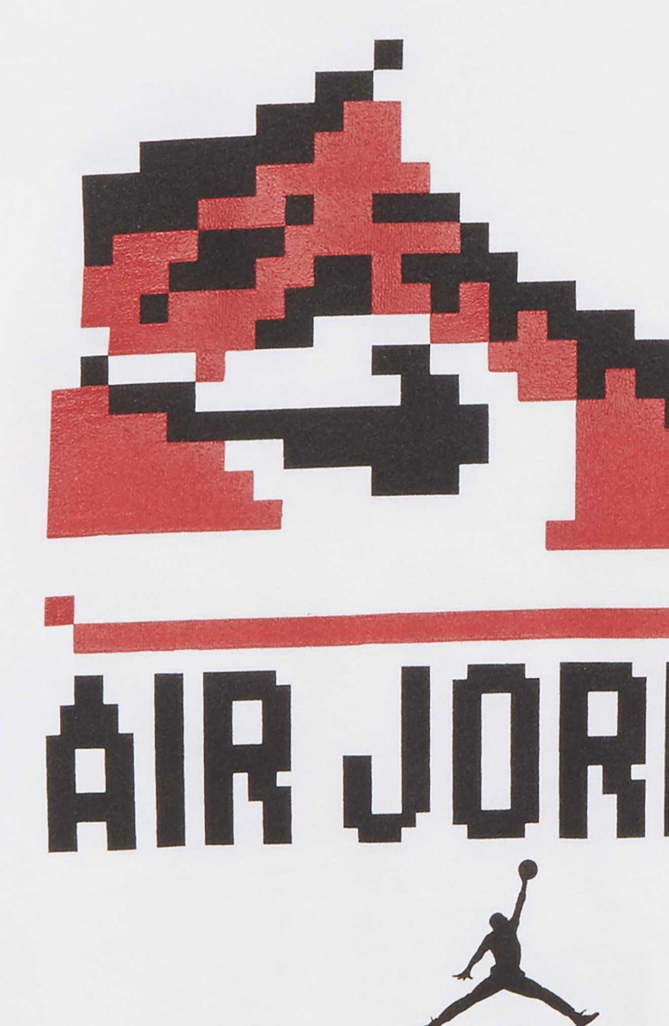 Jordan Pixel Pack Game Chan Graphic Shirt,                             Alternate thumbnail 2, color,                             100