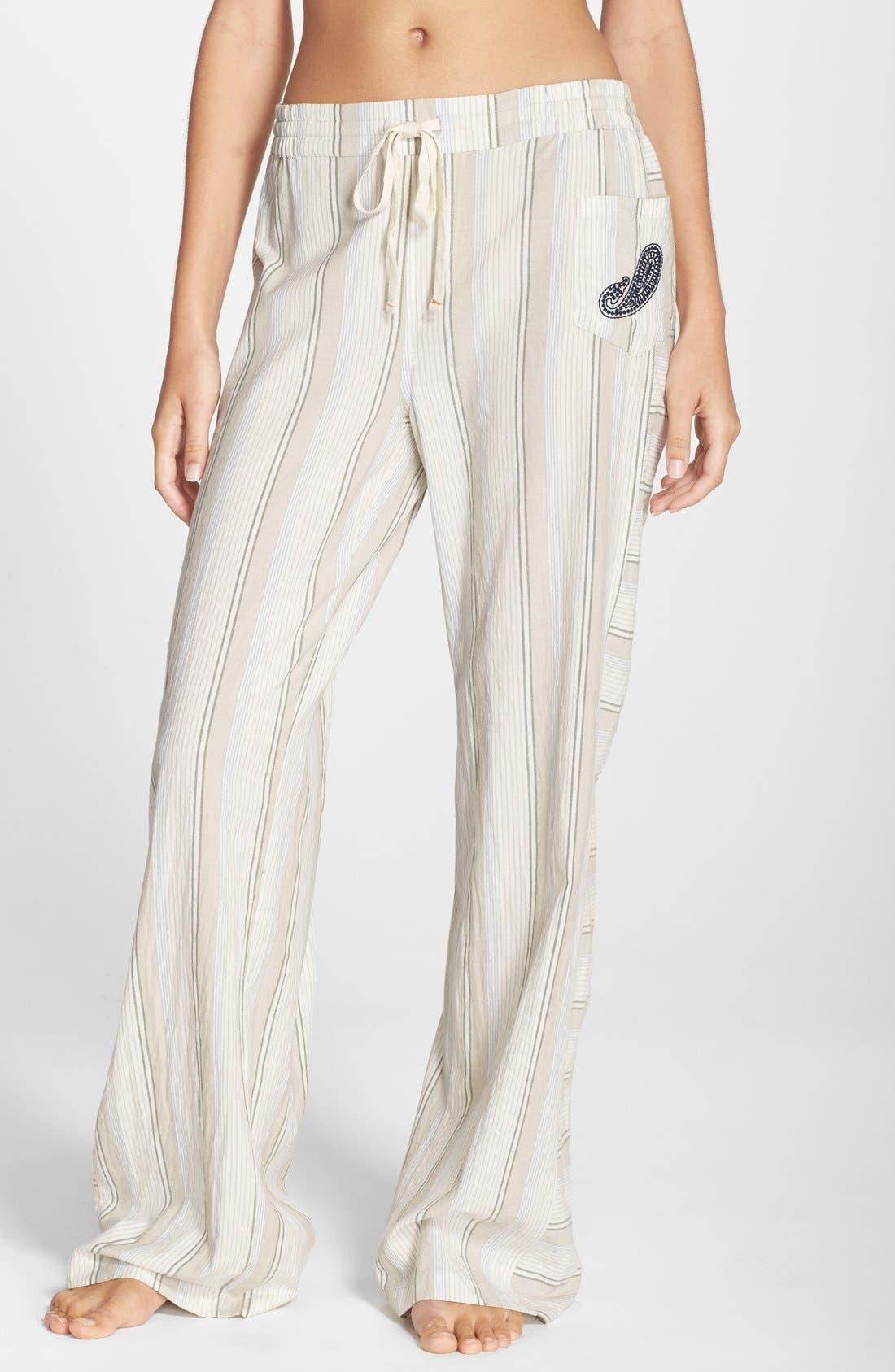 'Boho' Print Lounge Pants, Main, color, 101