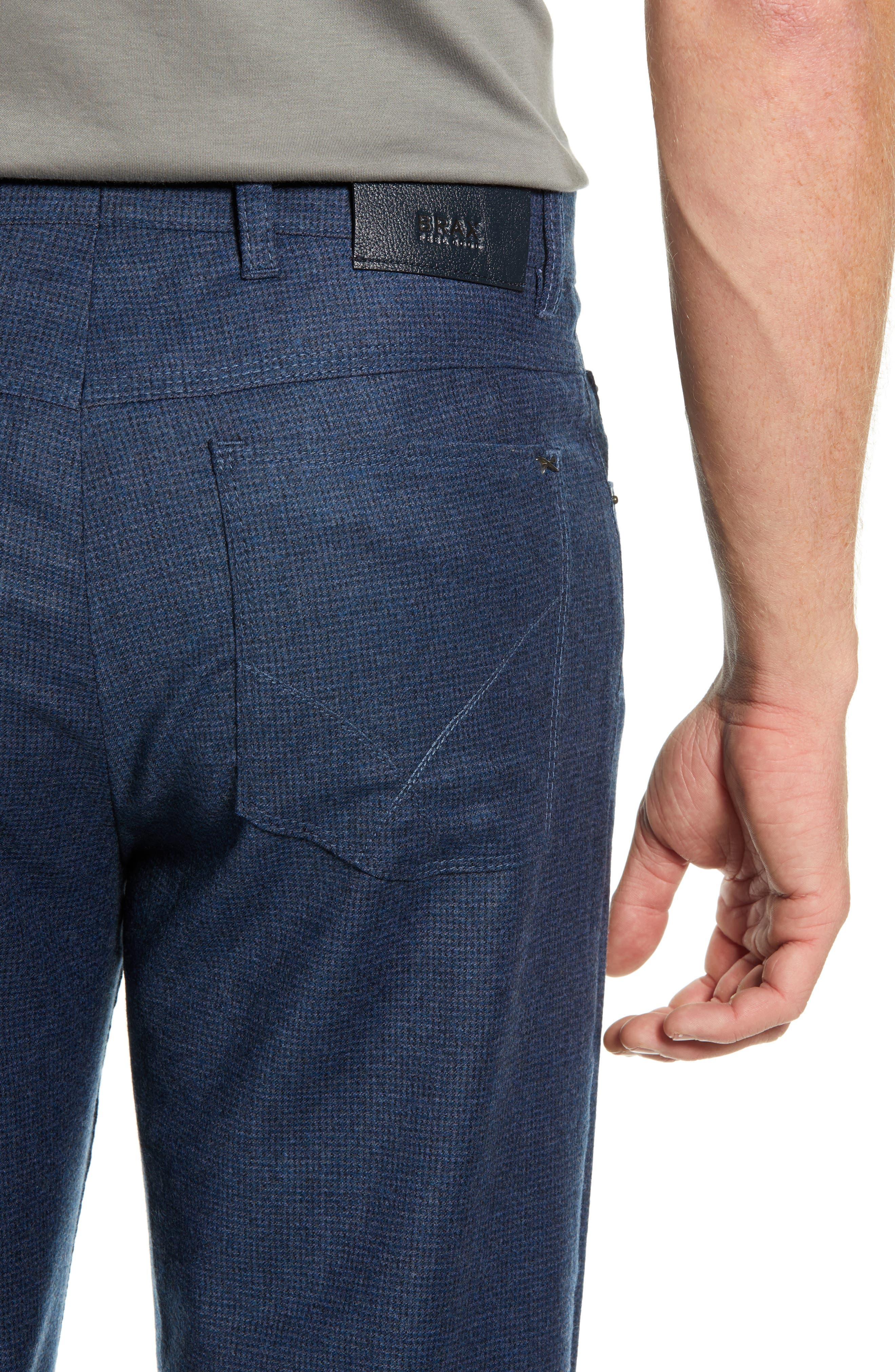 Cadiz Five-Pocket Stretch Wool Trousers,                             Alternate thumbnail 4, color,                             MIDNIGHT
