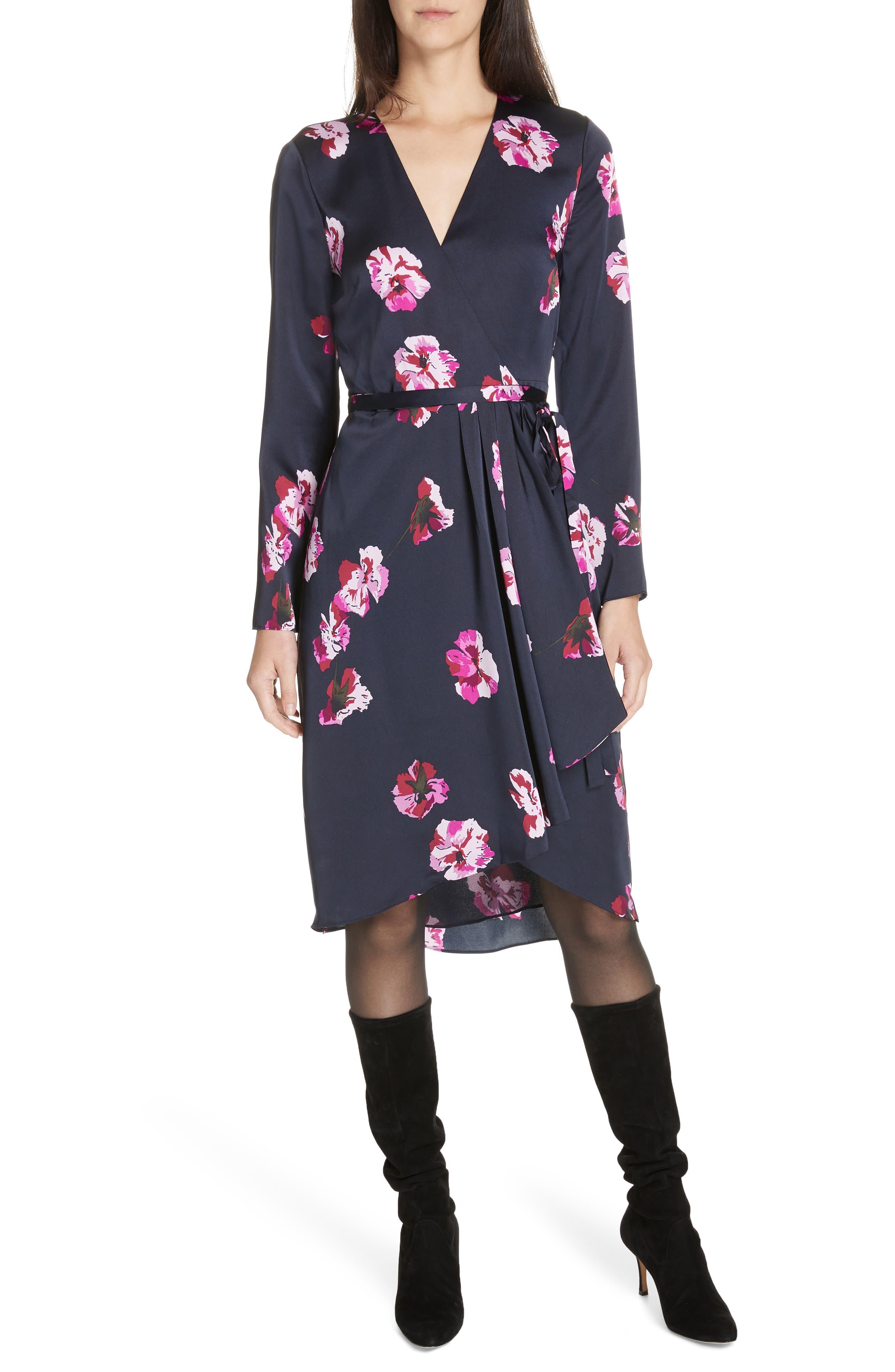 JOIE   Women's Joie Miltona Wrap Dress,   Goxip