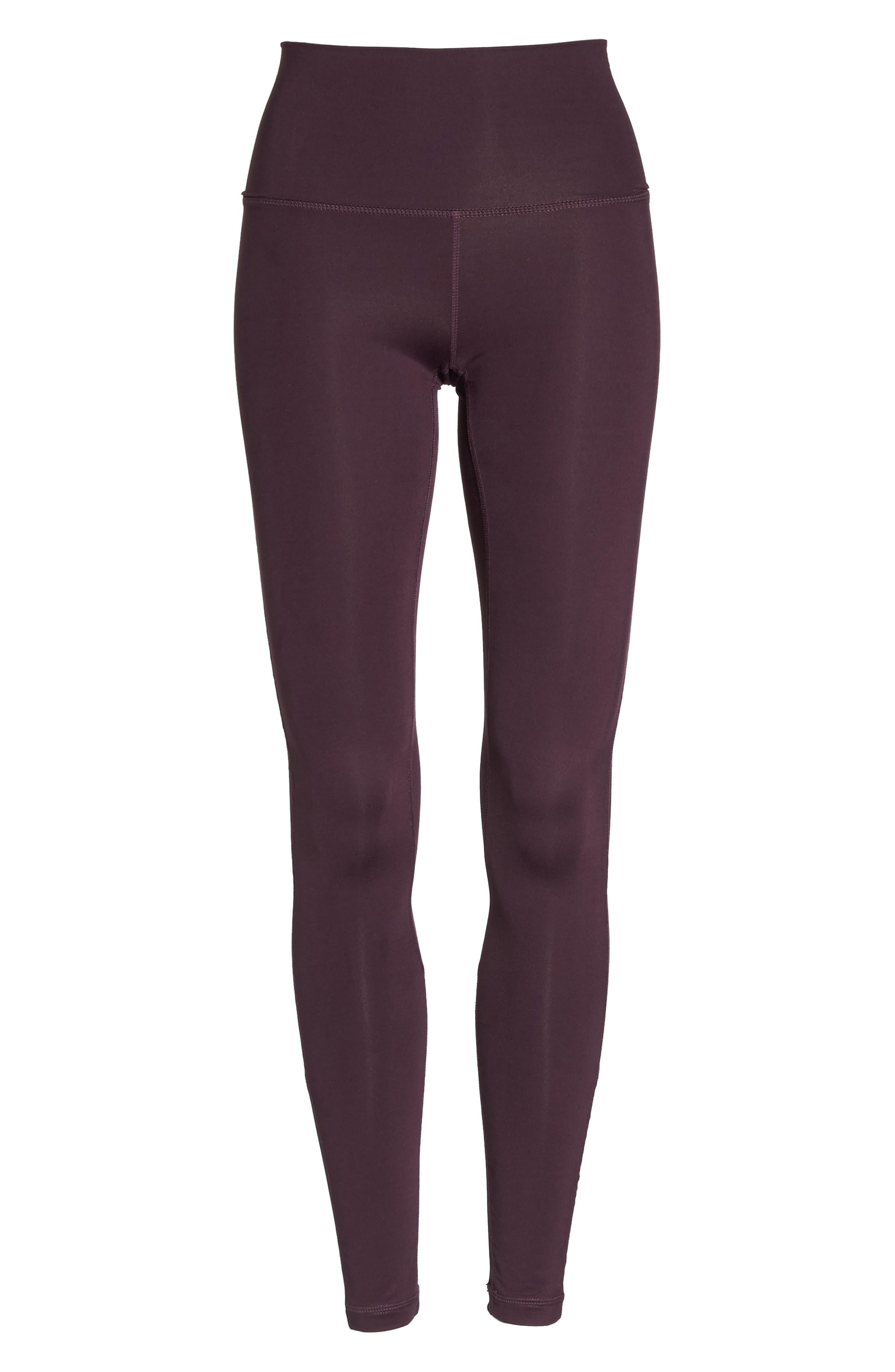 High Waist Asana Light Leggings,                             Alternate thumbnail 18, color,