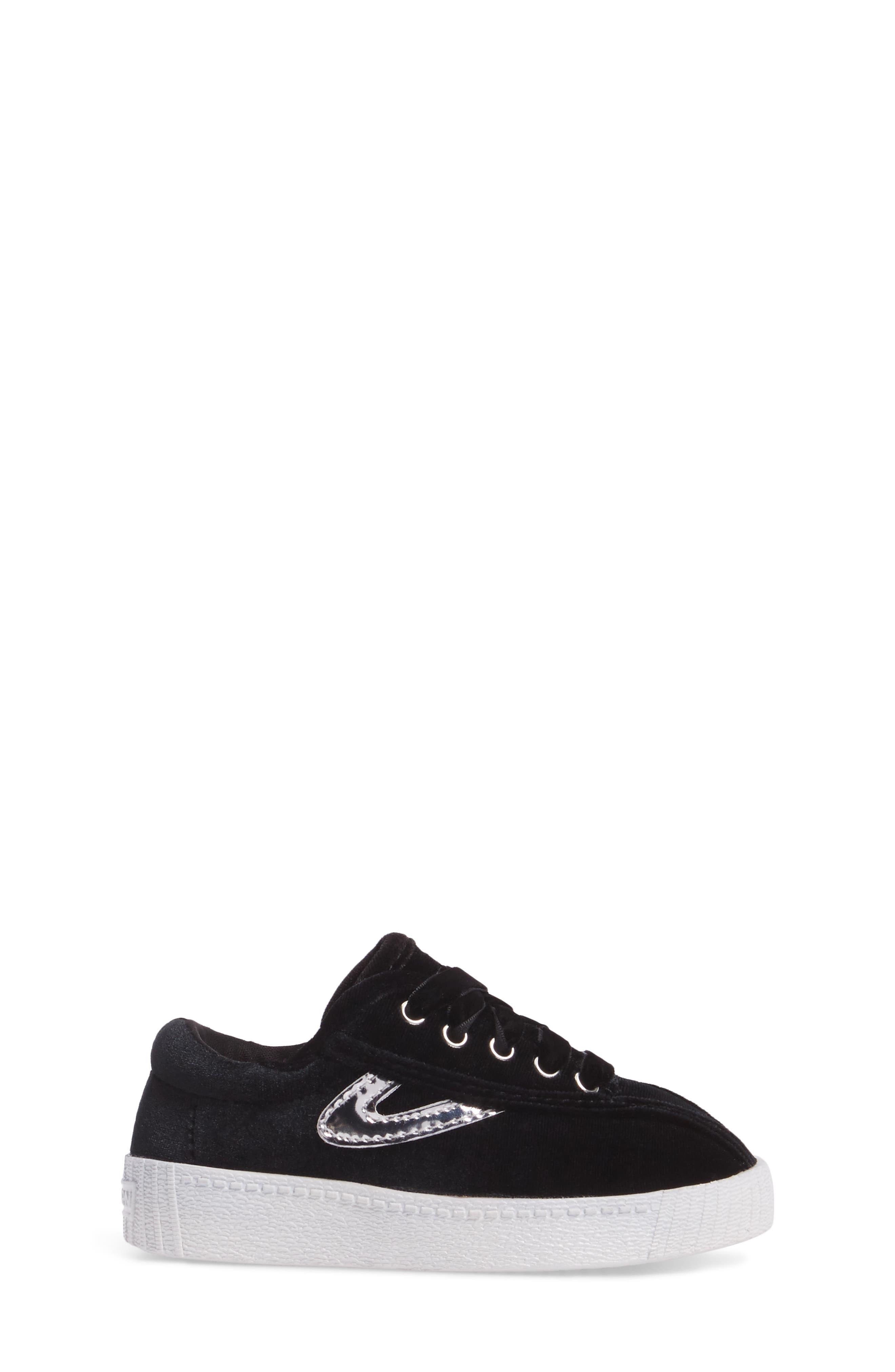 NYLite Velvet Sneaker,                             Alternate thumbnail 3, color,                             006