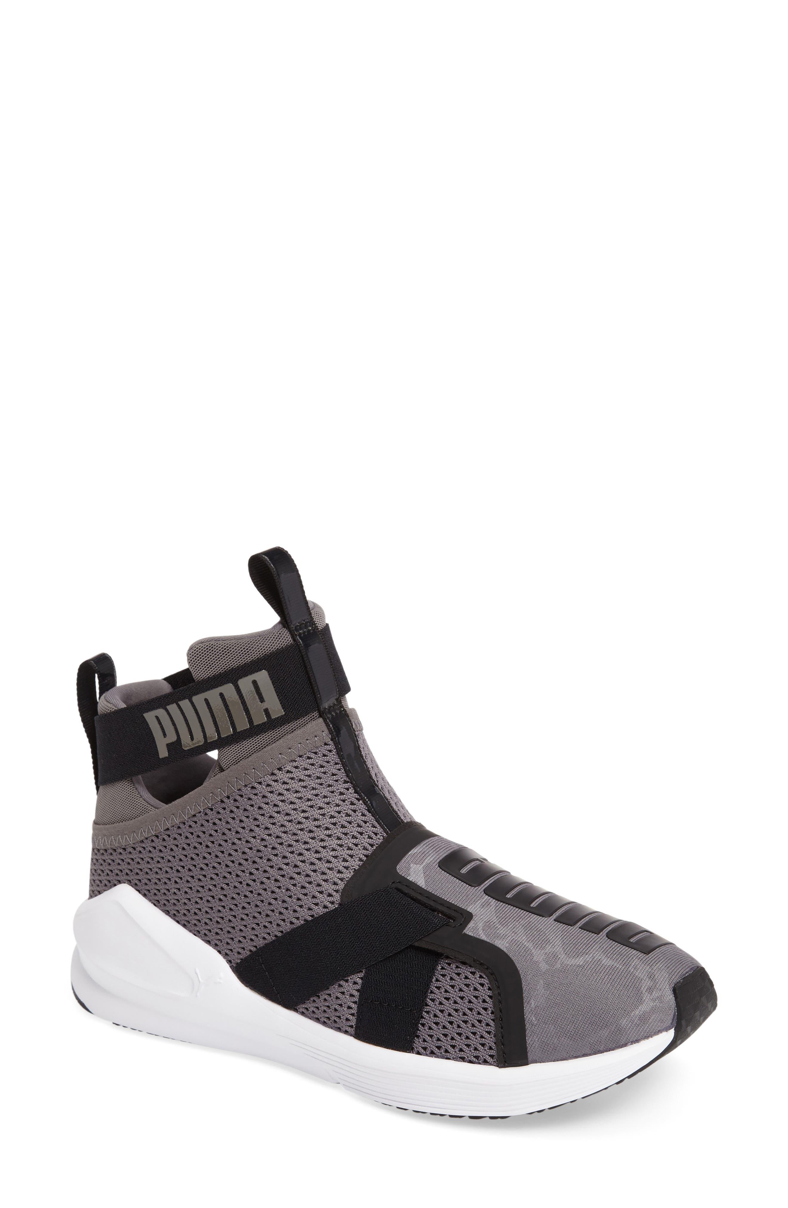 Fierce Strap Training Sneaker,                             Main thumbnail 4, color,