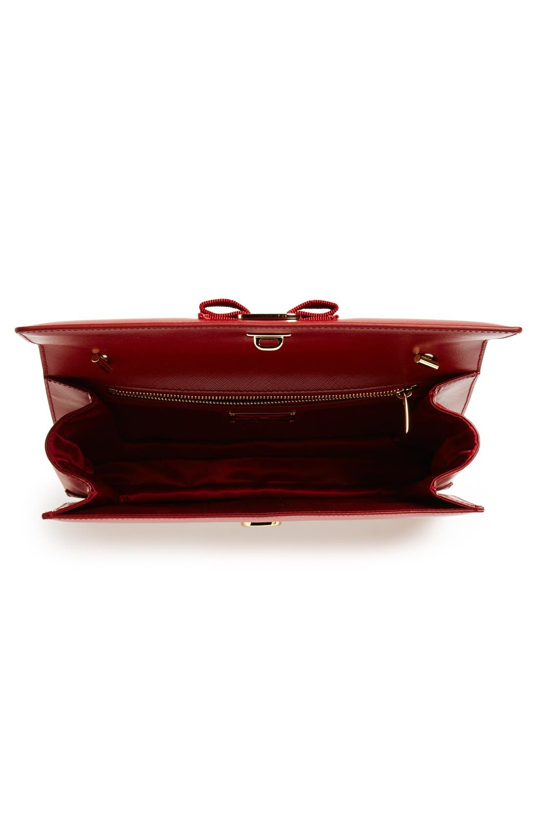 Saffiano Leather Shoulder Bag,                             Alternate thumbnail 16, color,