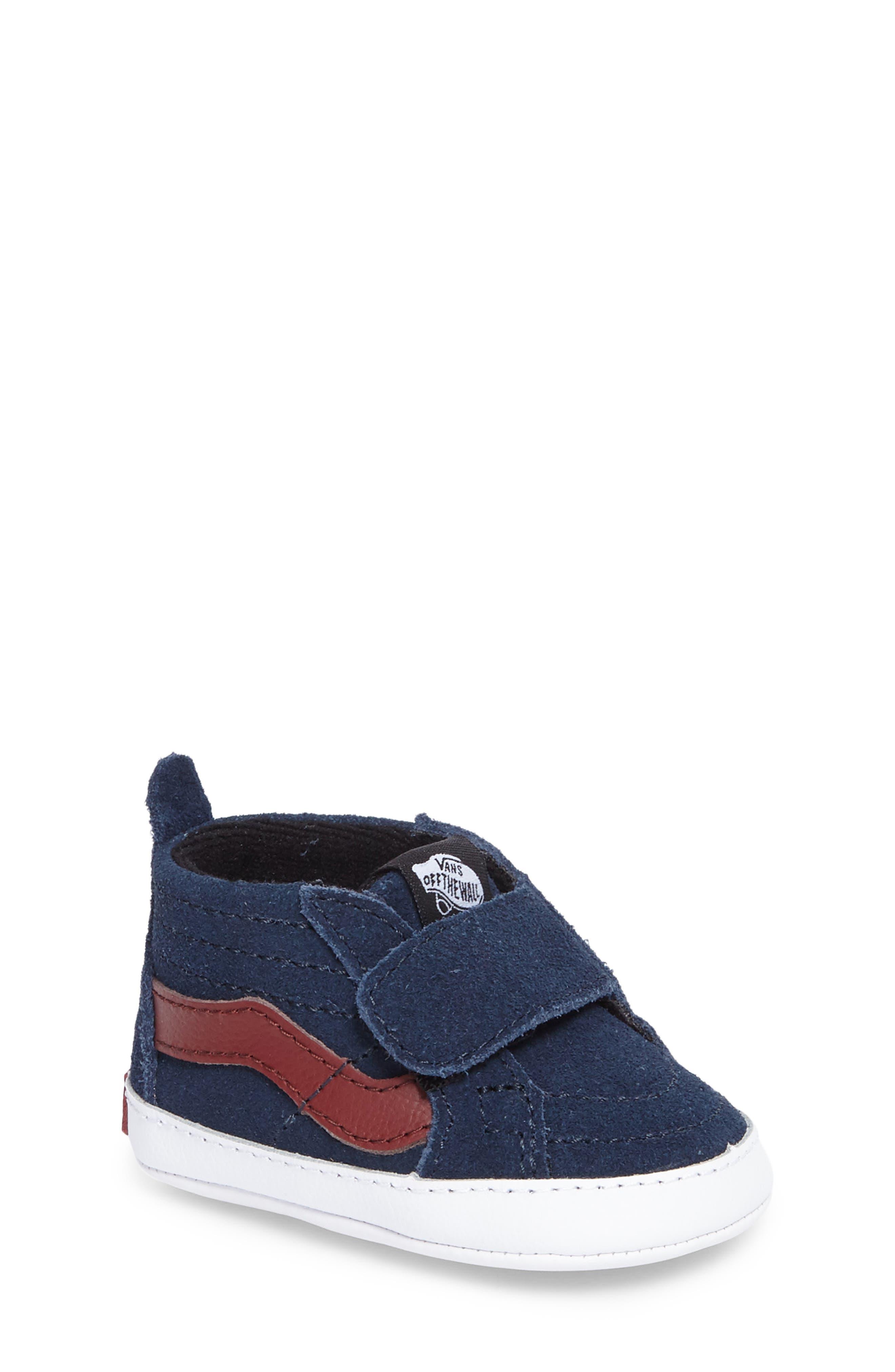 SK8-Hi Crib Sneaker,                             Main thumbnail 1, color,                             401