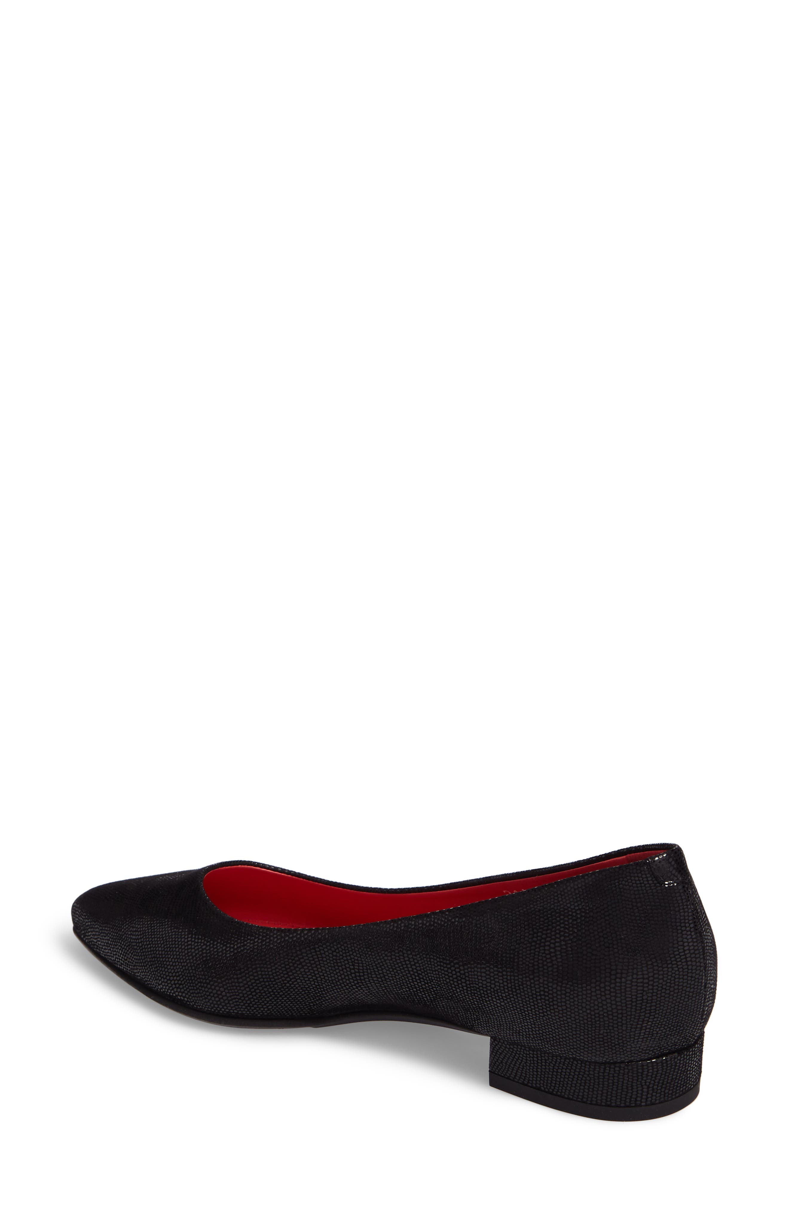 Pointy Toe Low Pump,                             Alternate thumbnail 2, color,                             001
