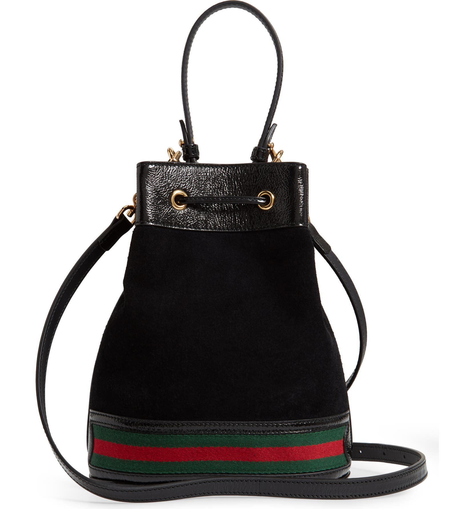 Gucci Small Ophidia Suede   Leather Bucket Bag   Nordstrom 946a08098c