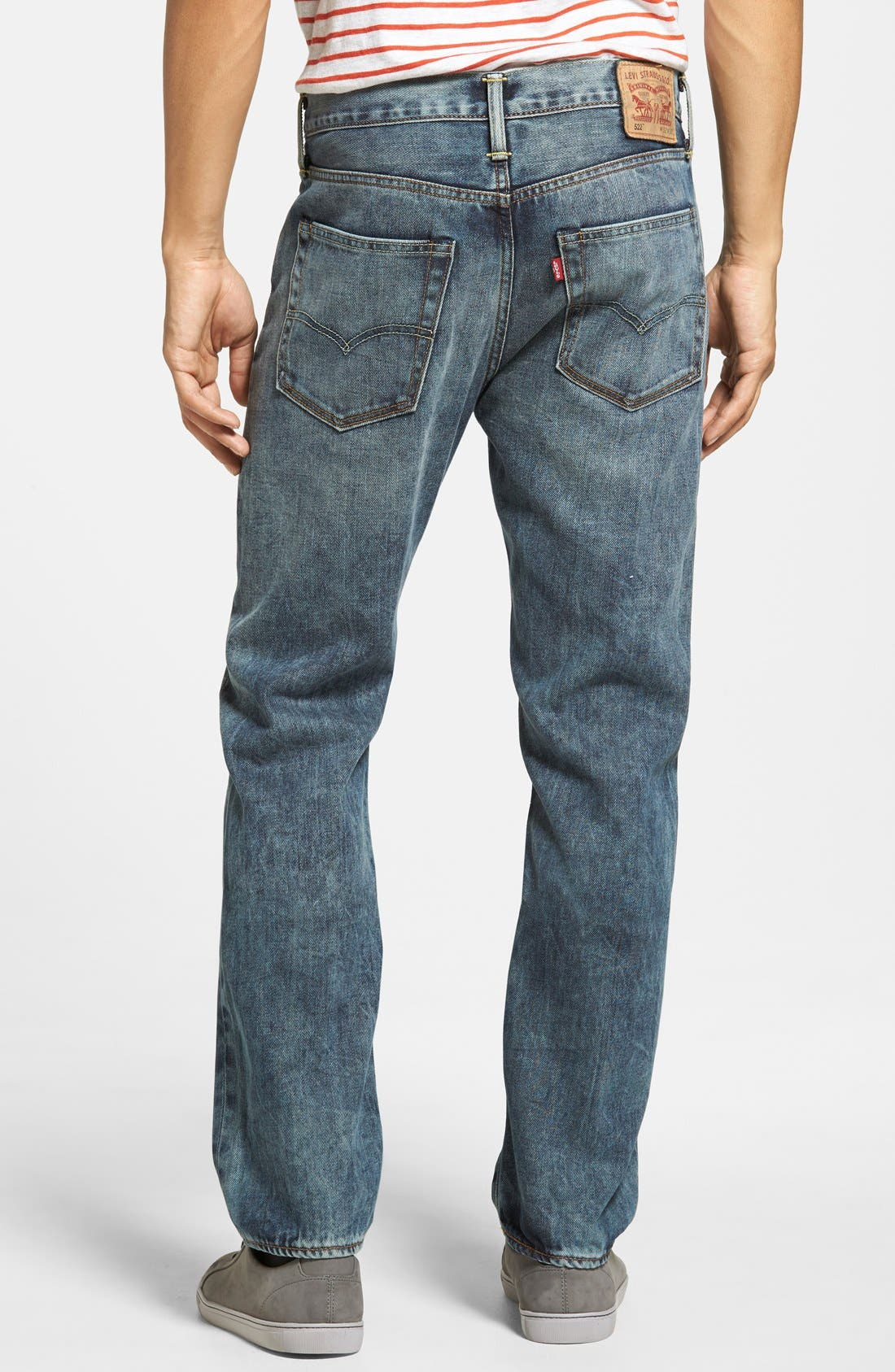 LEVI'S<SUP>®</SUP>,                             '522<sup>™</sup>' Slim Tapered Fit Jeans,                             Alternate thumbnail 2, color,                             423