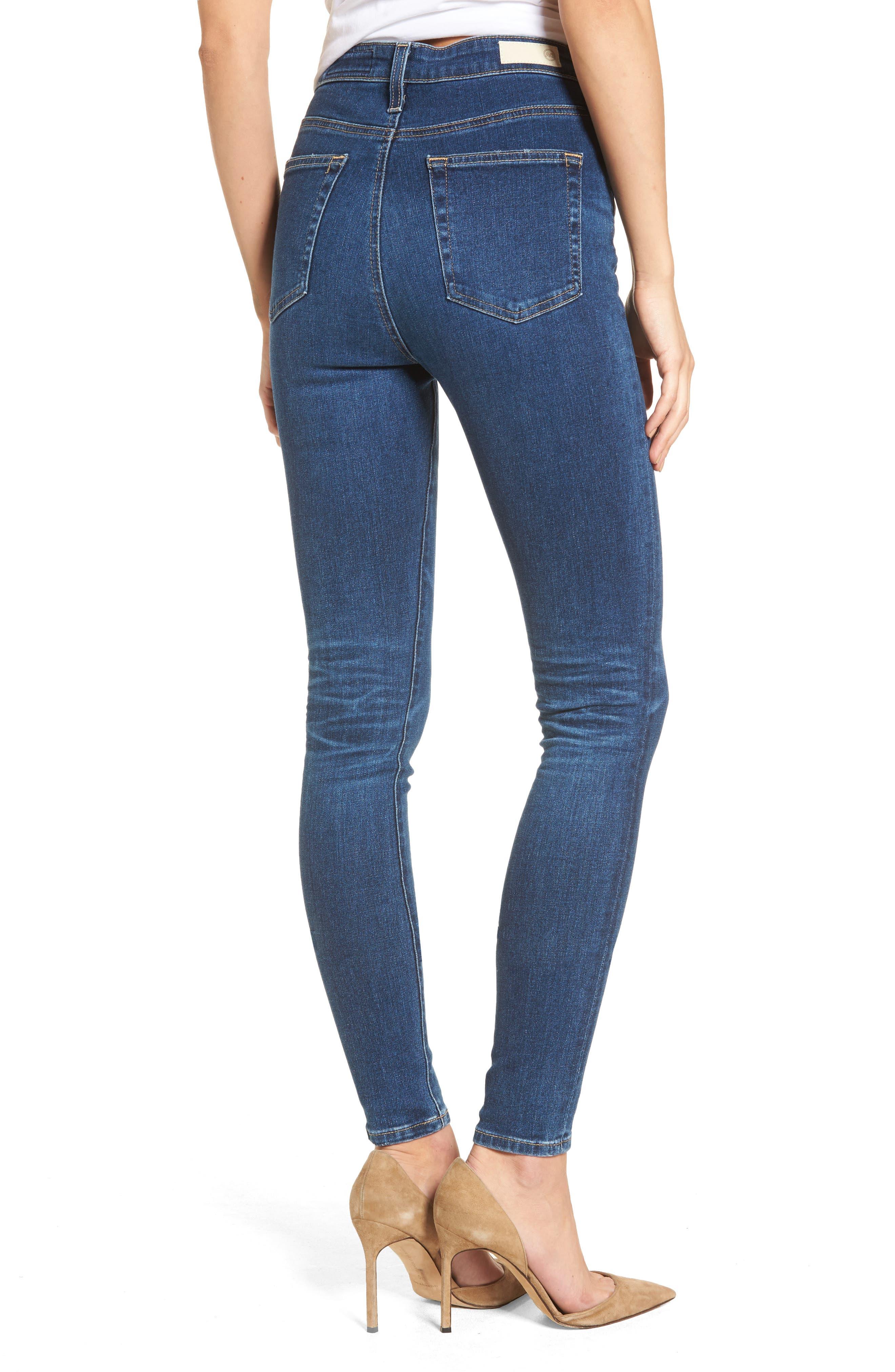 Mila High Waist Skinny Jeans,                             Alternate thumbnail 2, color,                             473