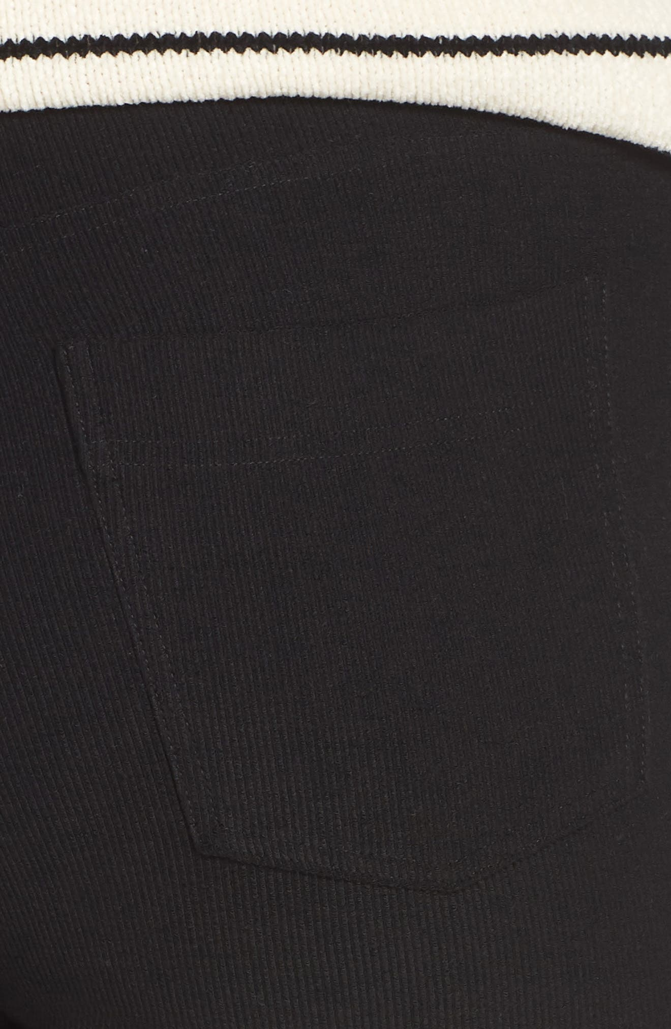 5-Pocket Skinny Pants,                             Alternate thumbnail 6, color,                             BLACK