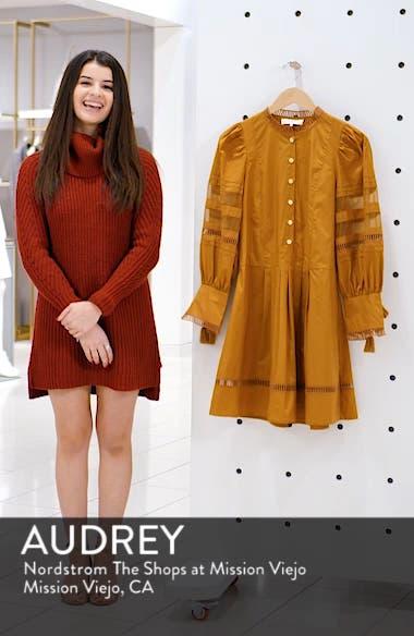 Capri Ladder Stitch Trim Dress, sales video thumbnail