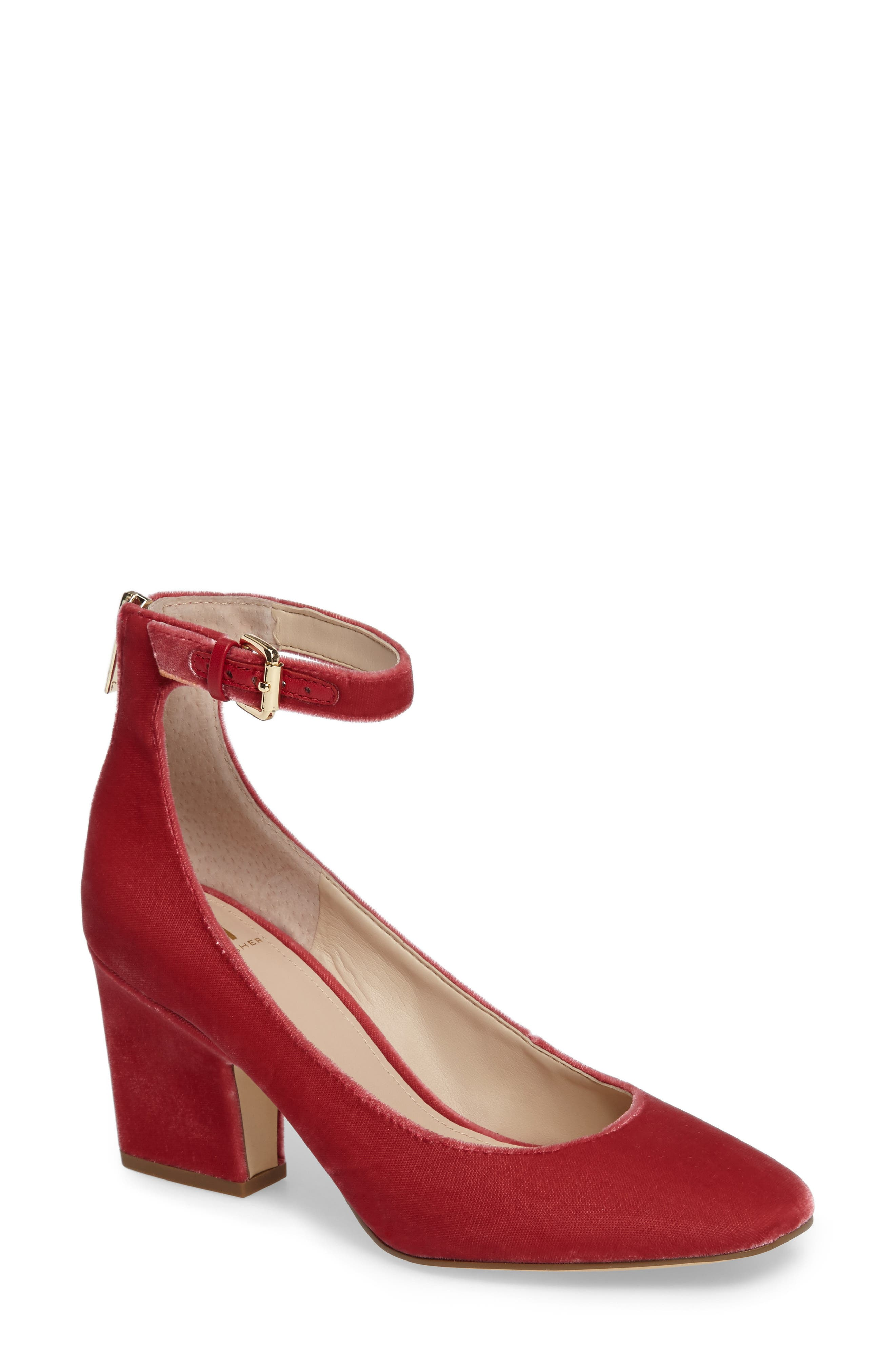 Anisy Ankle Strap Pump,                             Main thumbnail 5, color,