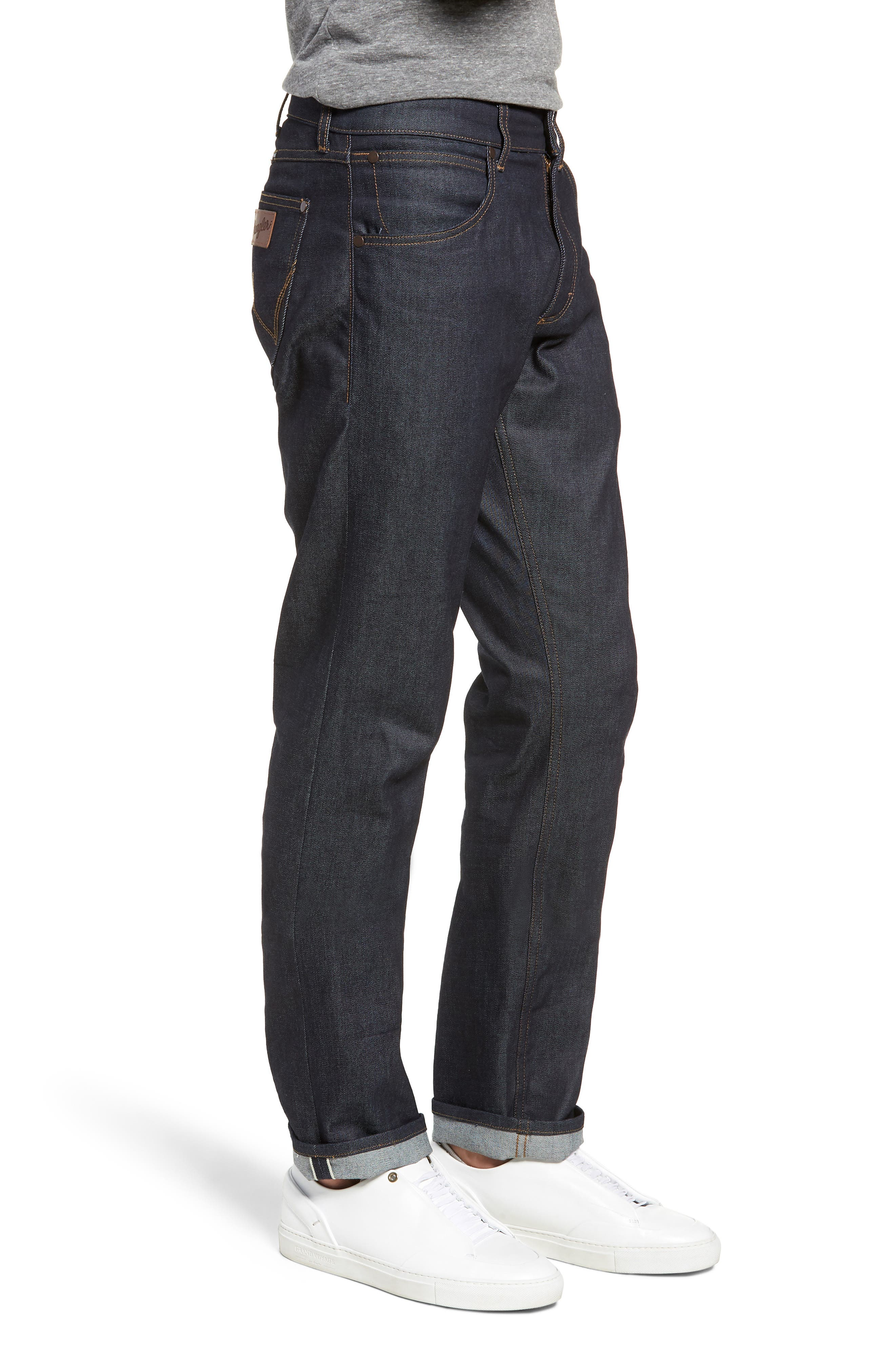 Greensboro Straight Leg Jeans,                             Alternate thumbnail 3, color,                             472