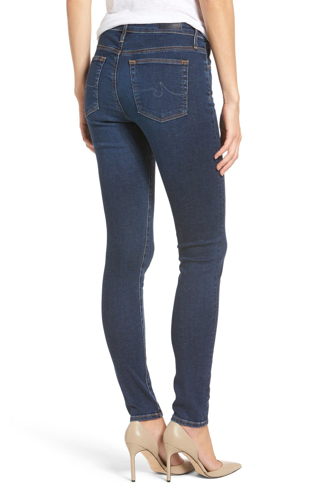 'The Farrah' High Rise Skinny Jeans,                             Alternate thumbnail 30, color,