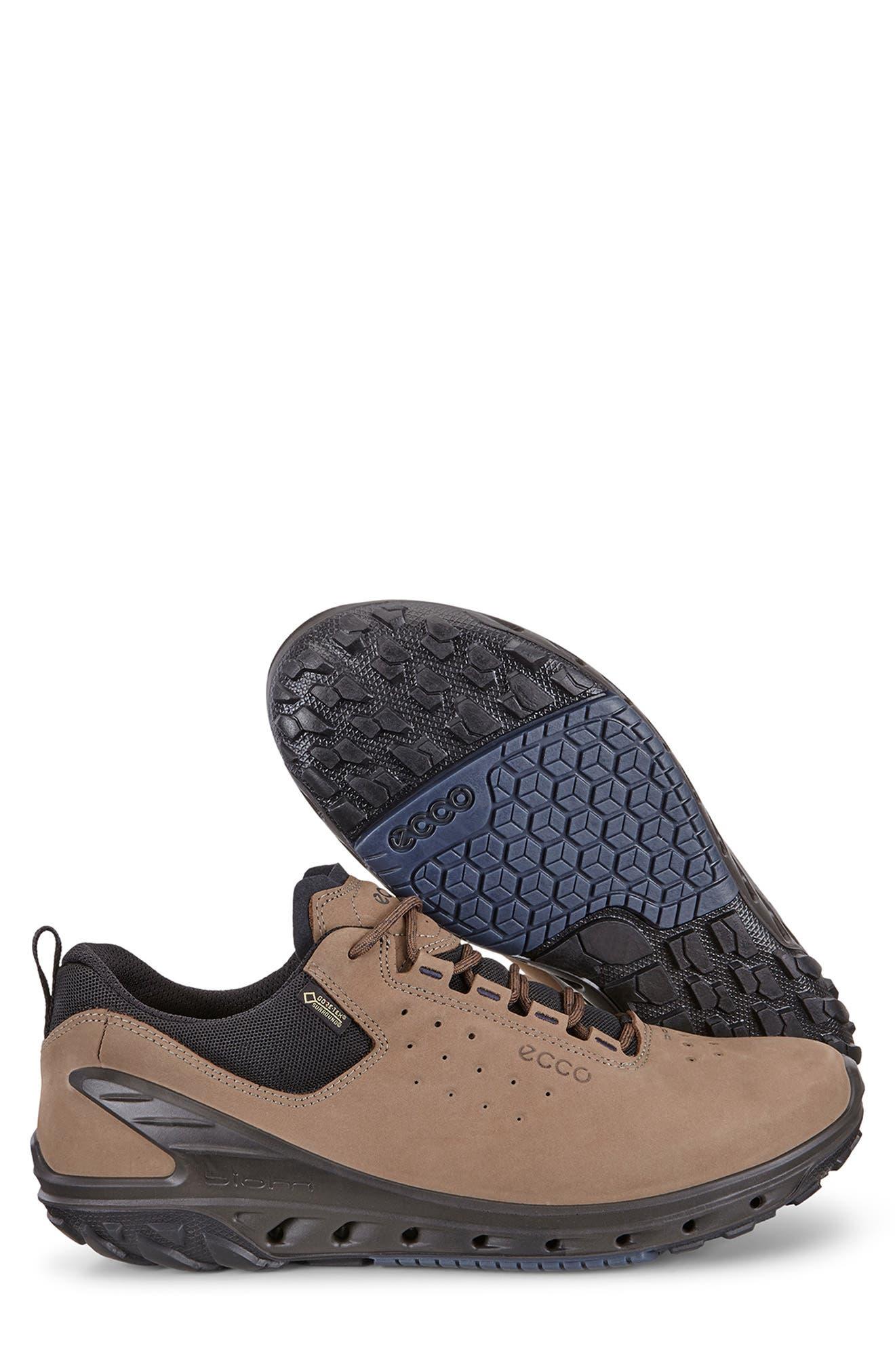 Biom Venture GTX Sneaker,                             Alternate thumbnail 6, color,                             BIRCH BROWN LEATHER