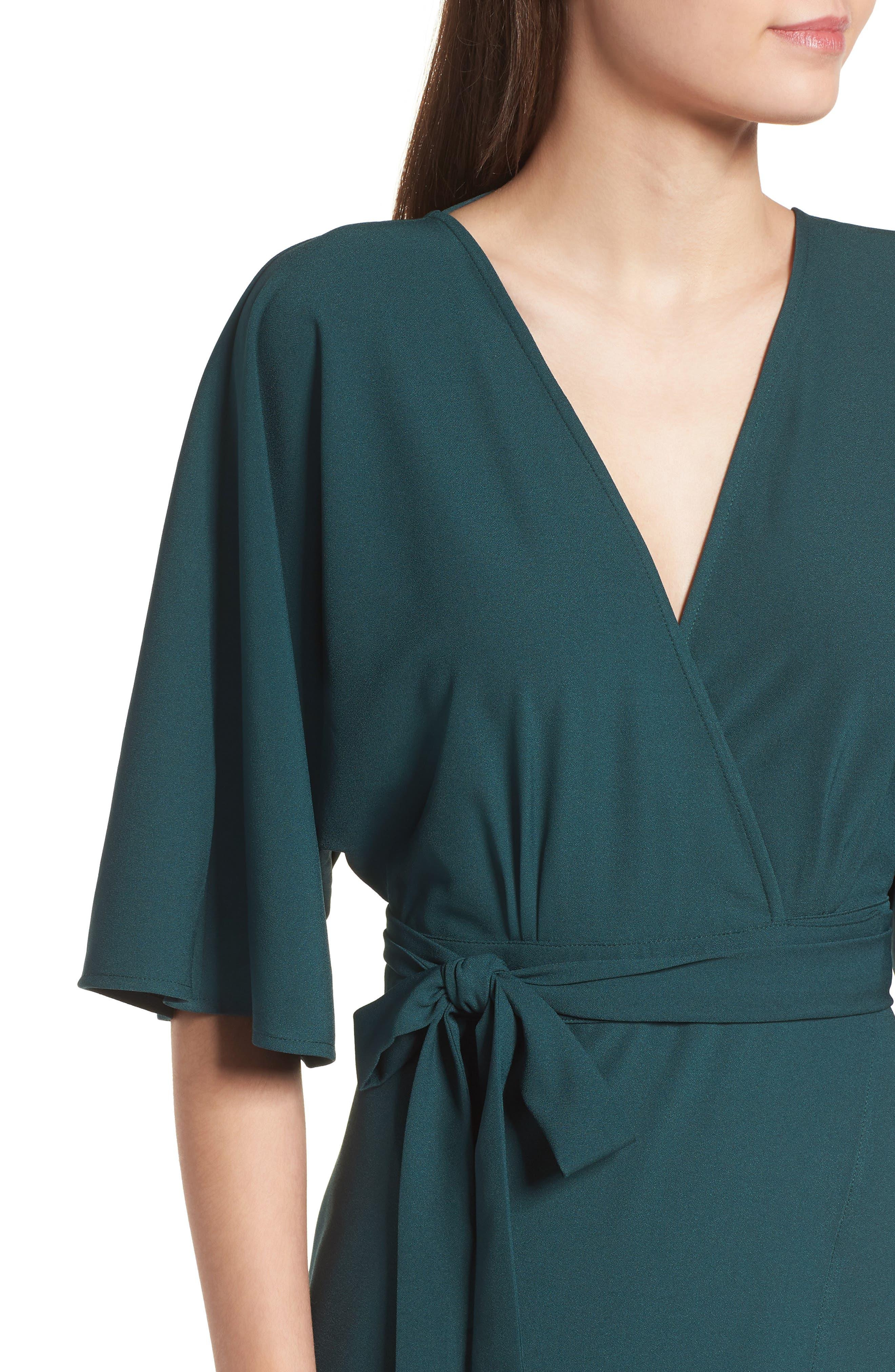 Kimono Maxi Dress,                             Alternate thumbnail 4, color,                             301