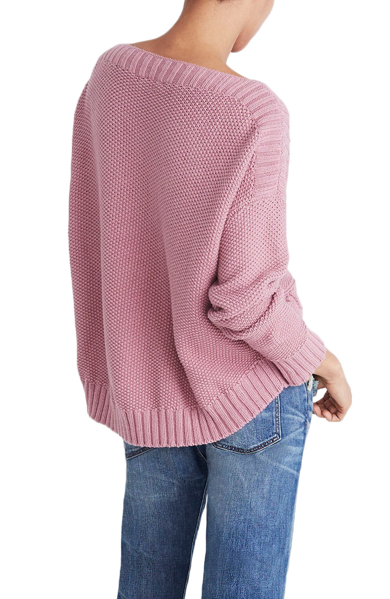 Zigzag Stitch Pullover Sweater,                             Alternate thumbnail 2, color,                             650