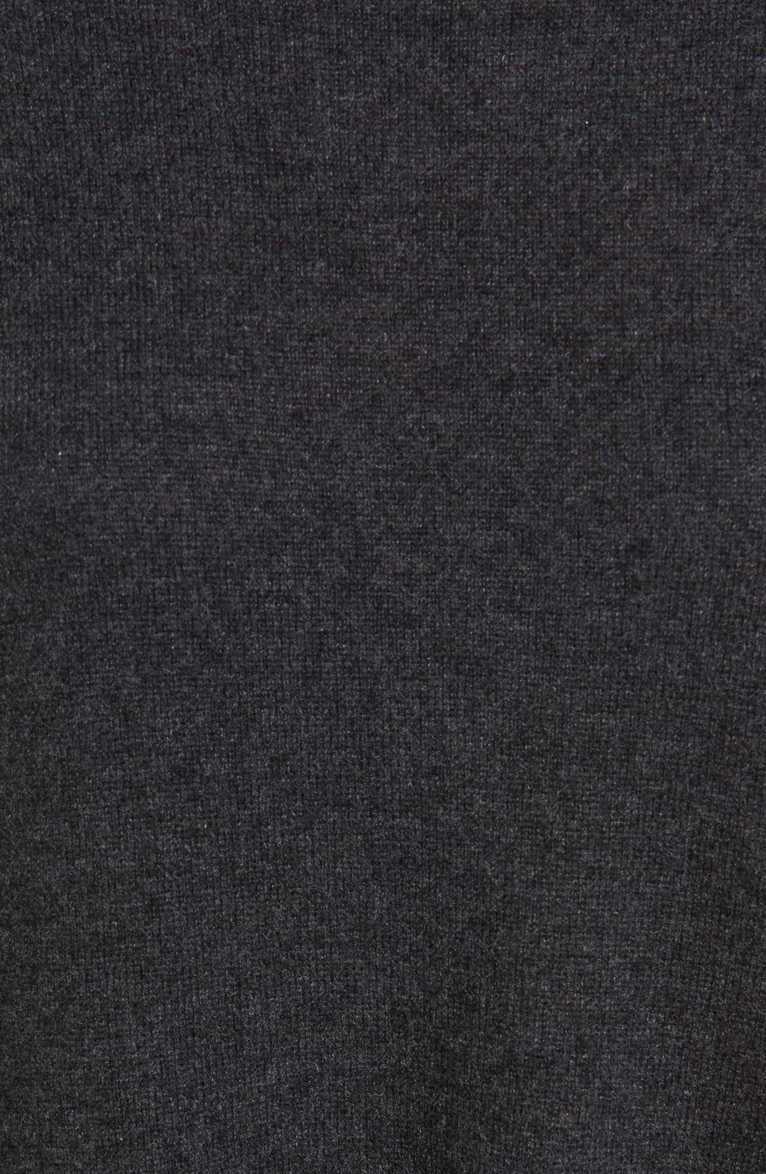 Cashmere Tunic Sweater Dress,                             Alternate thumbnail 5, color,