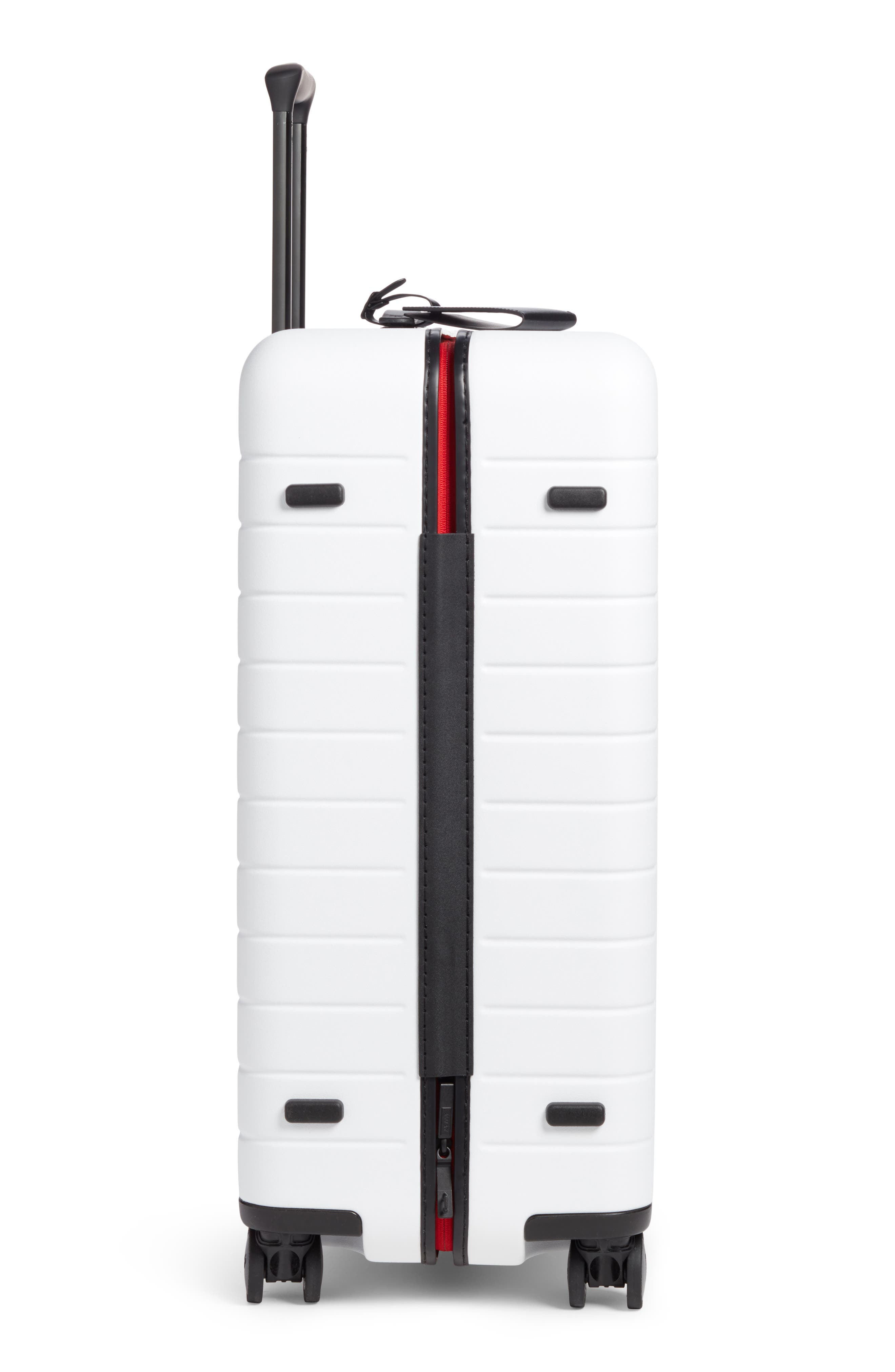 The Medium Suitcase,                             Alternate thumbnail 3, color,                             WHITE/ MULTI