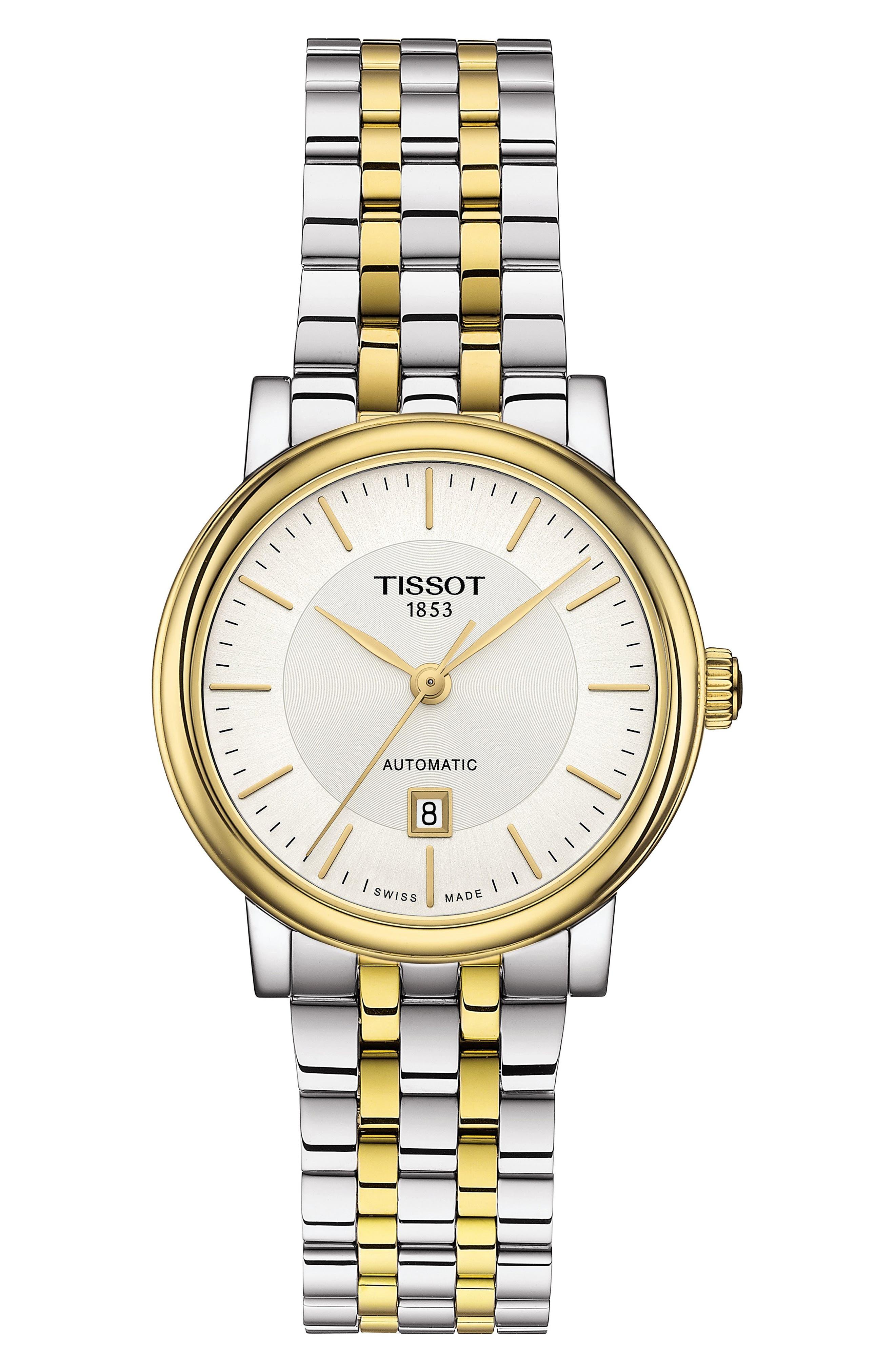 Tissot T-CLASSIC CARSON DIAMOND BRACELET WATCH, 30MM