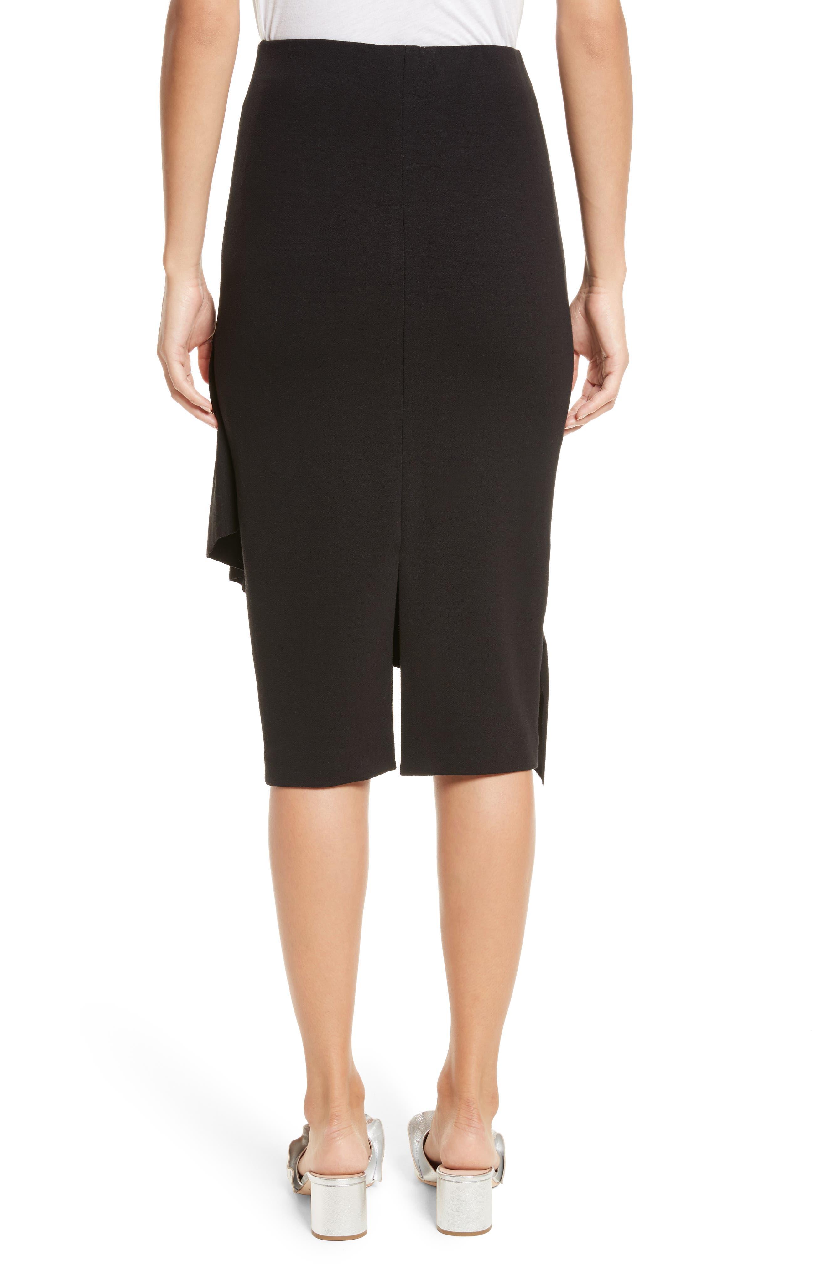 Three-Vent Skirt,                             Alternate thumbnail 2, color,                             001