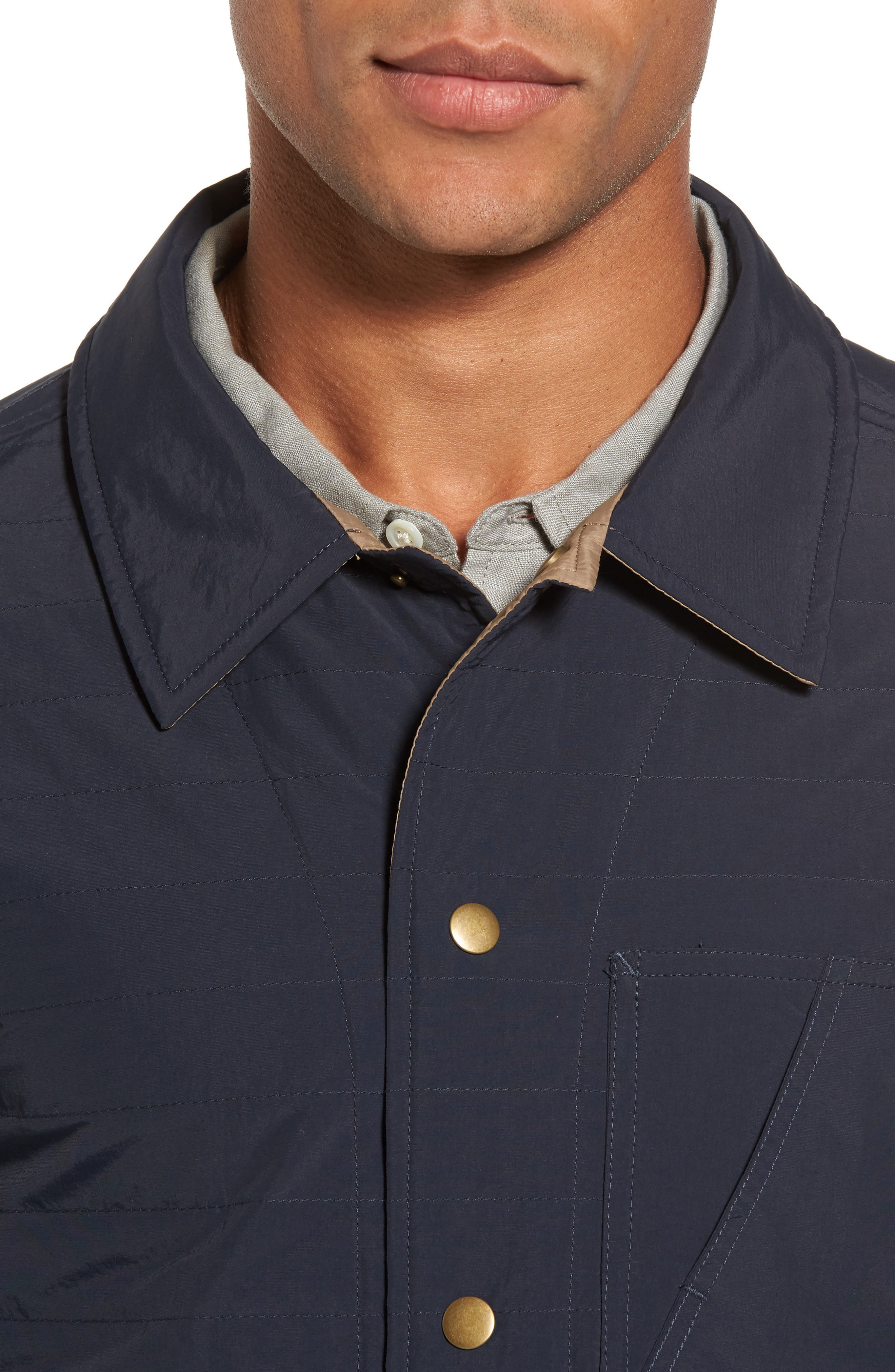 Leroy Quilted Shirt Jacket,                             Alternate thumbnail 4, color,                             410