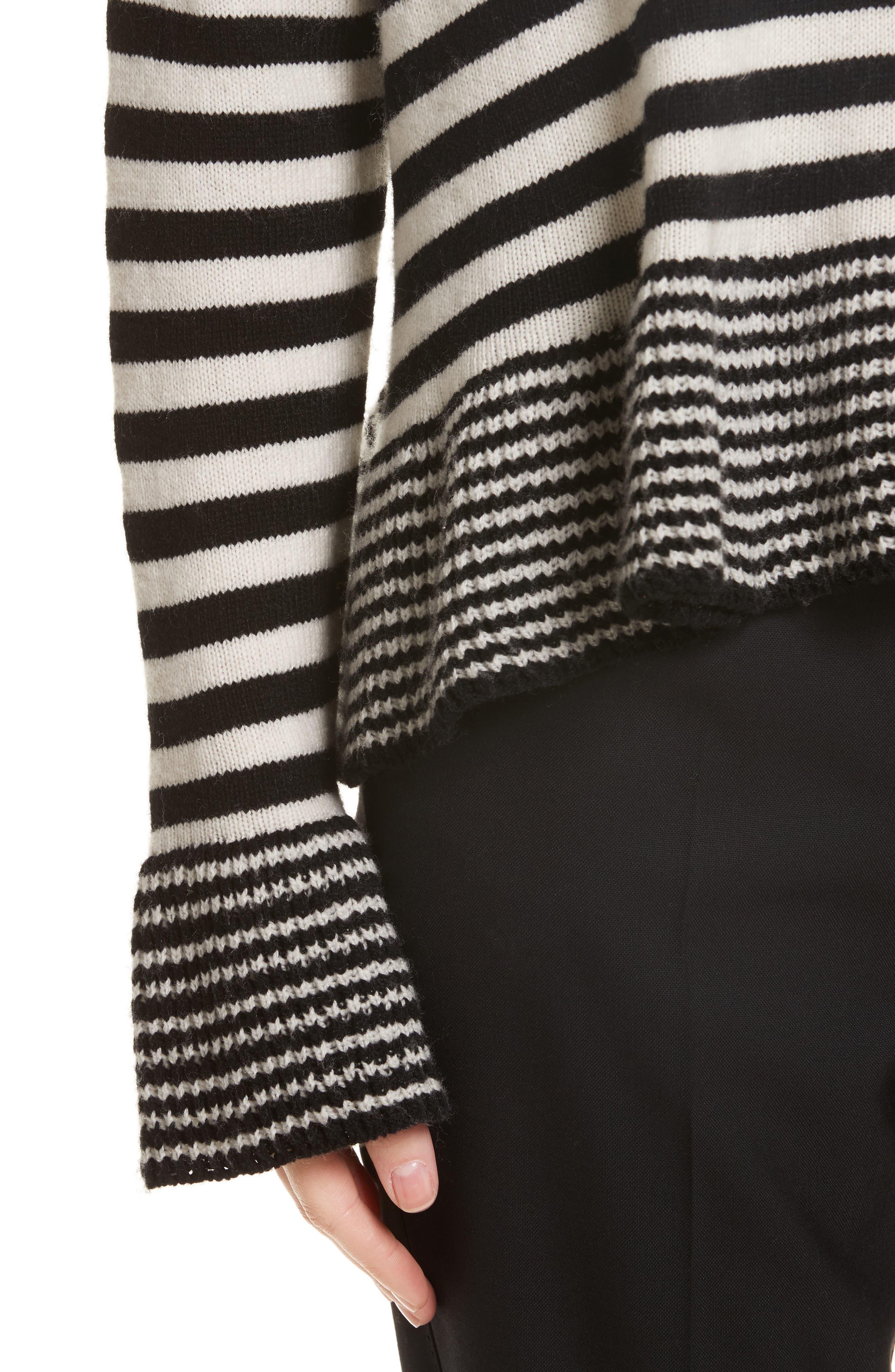 Seren Stripe Pullover,                             Alternate thumbnail 4, color,                             015