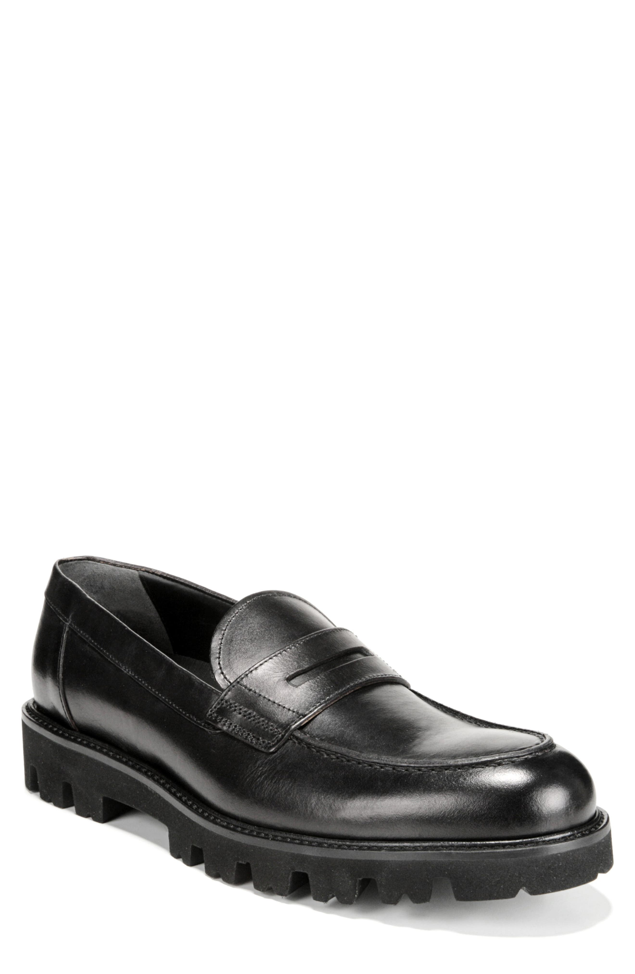 Comrade Loafer,                         Main,                         color, BLACK