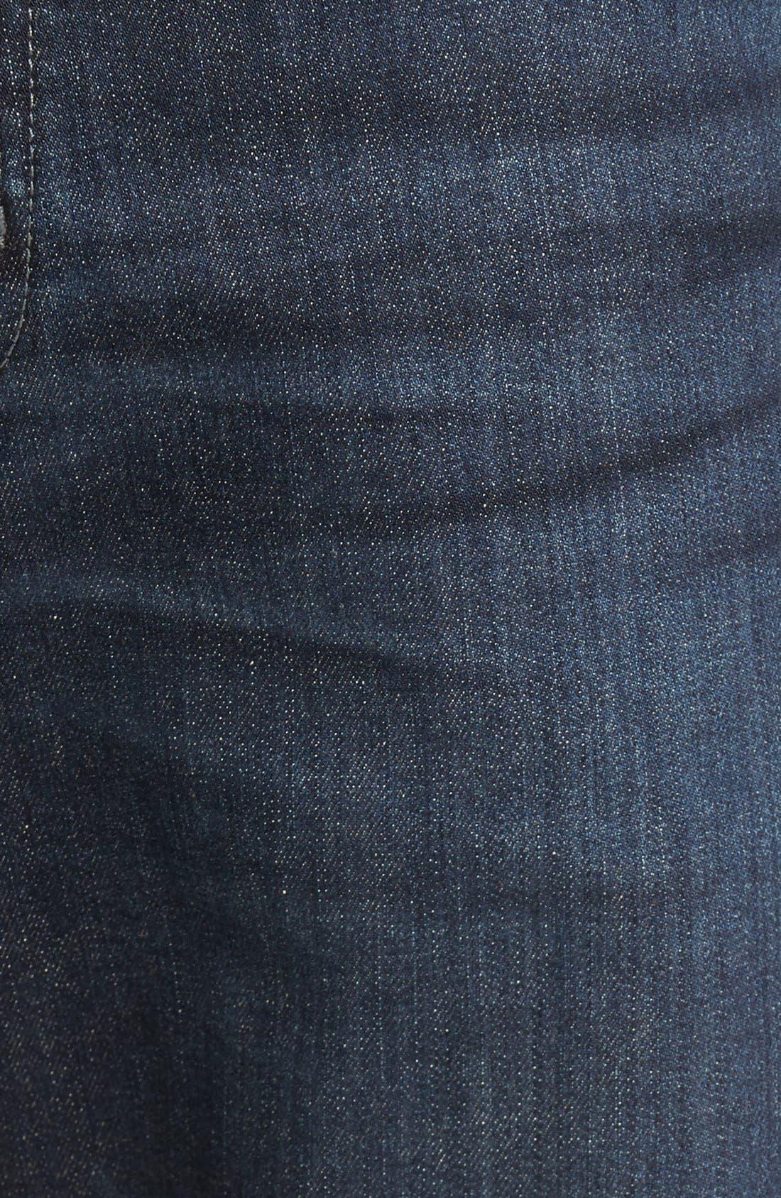 Graduate Slim Straight Leg Jeans,                             Alternate thumbnail 5, color,                             ROCKWELL