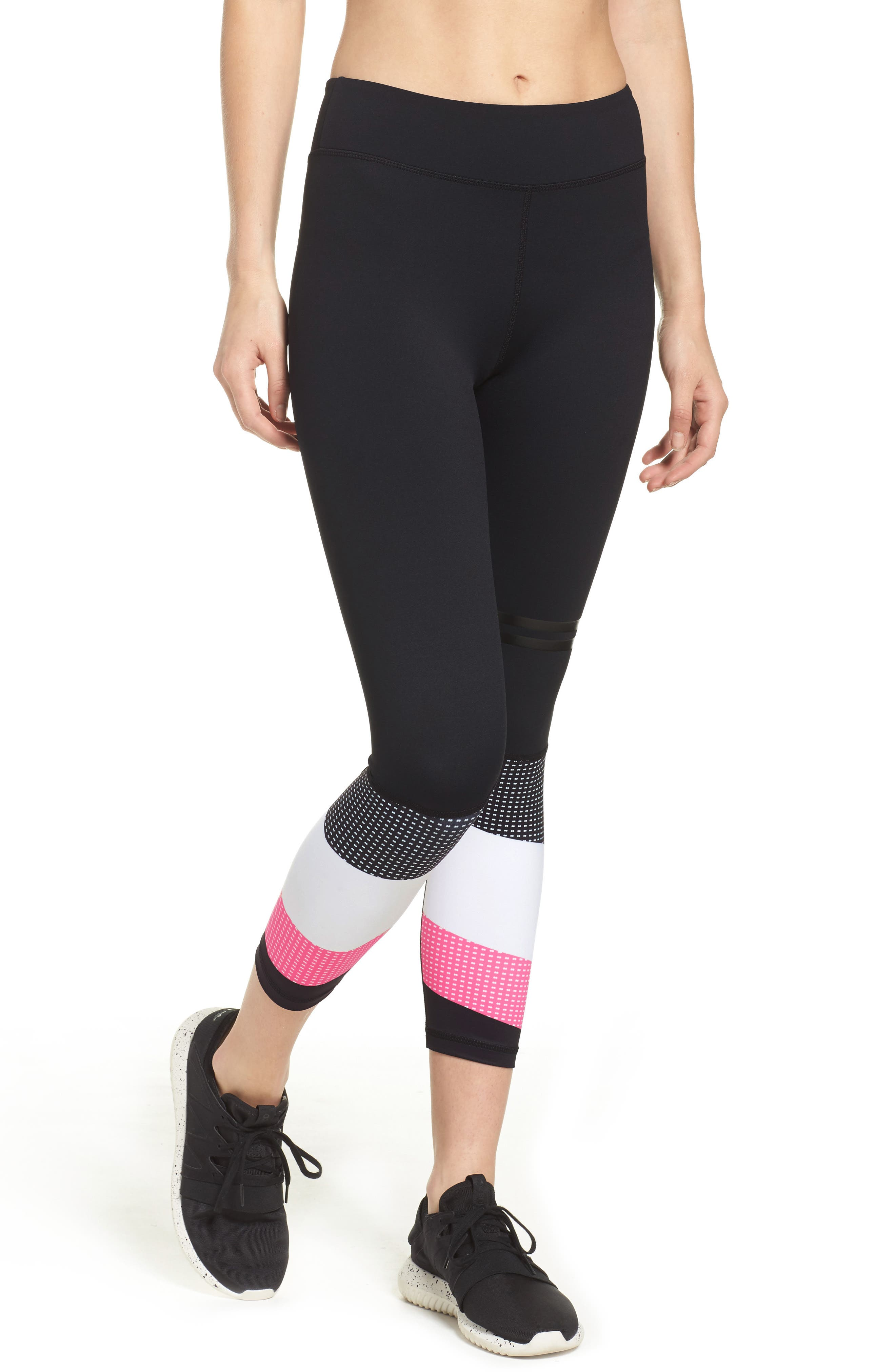 Skyler Midi Leggings,                             Main thumbnail 1, color,                             001