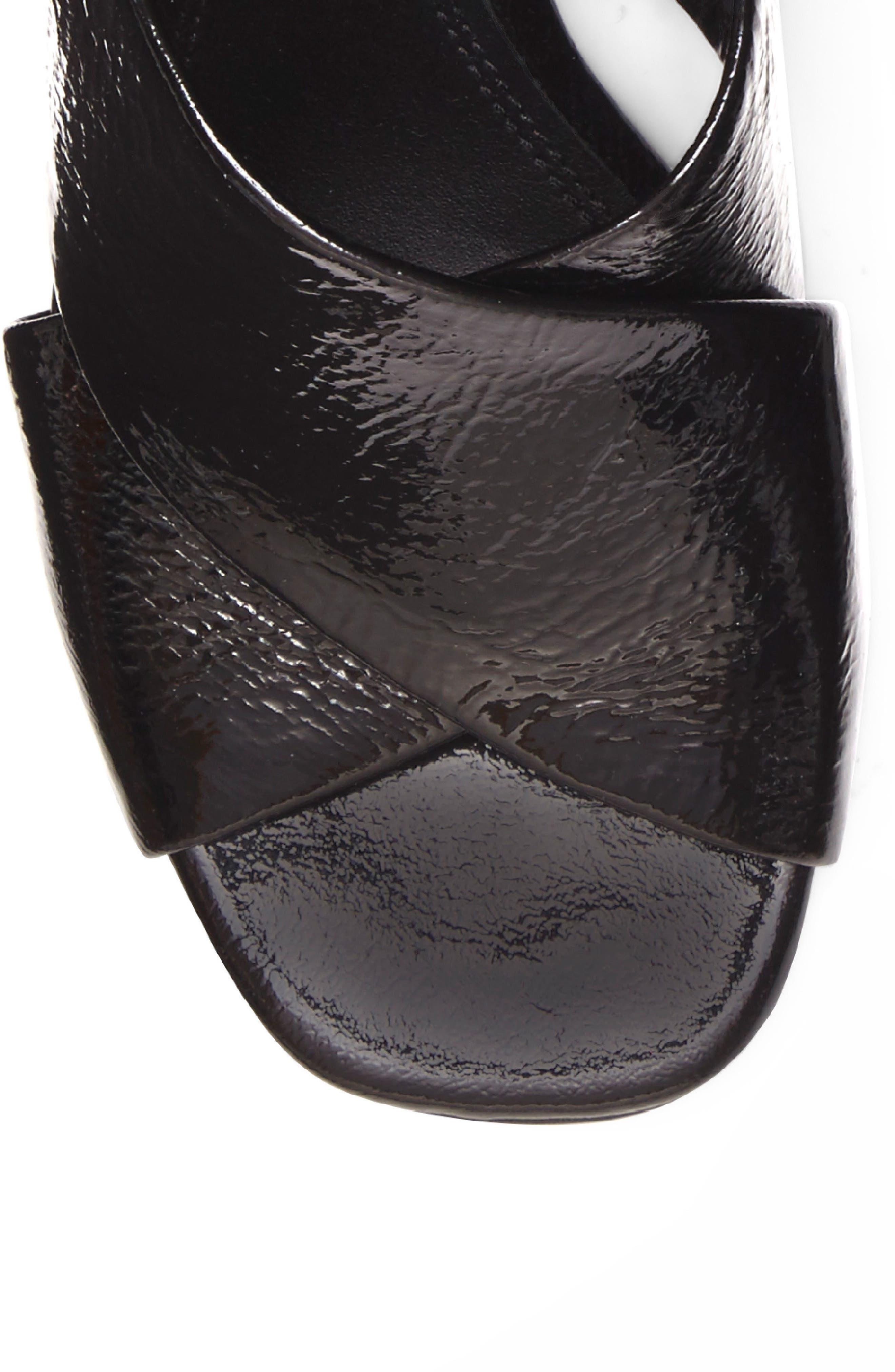 Lenilow Cross Strap Sandal,                             Alternate thumbnail 7, color,                             001