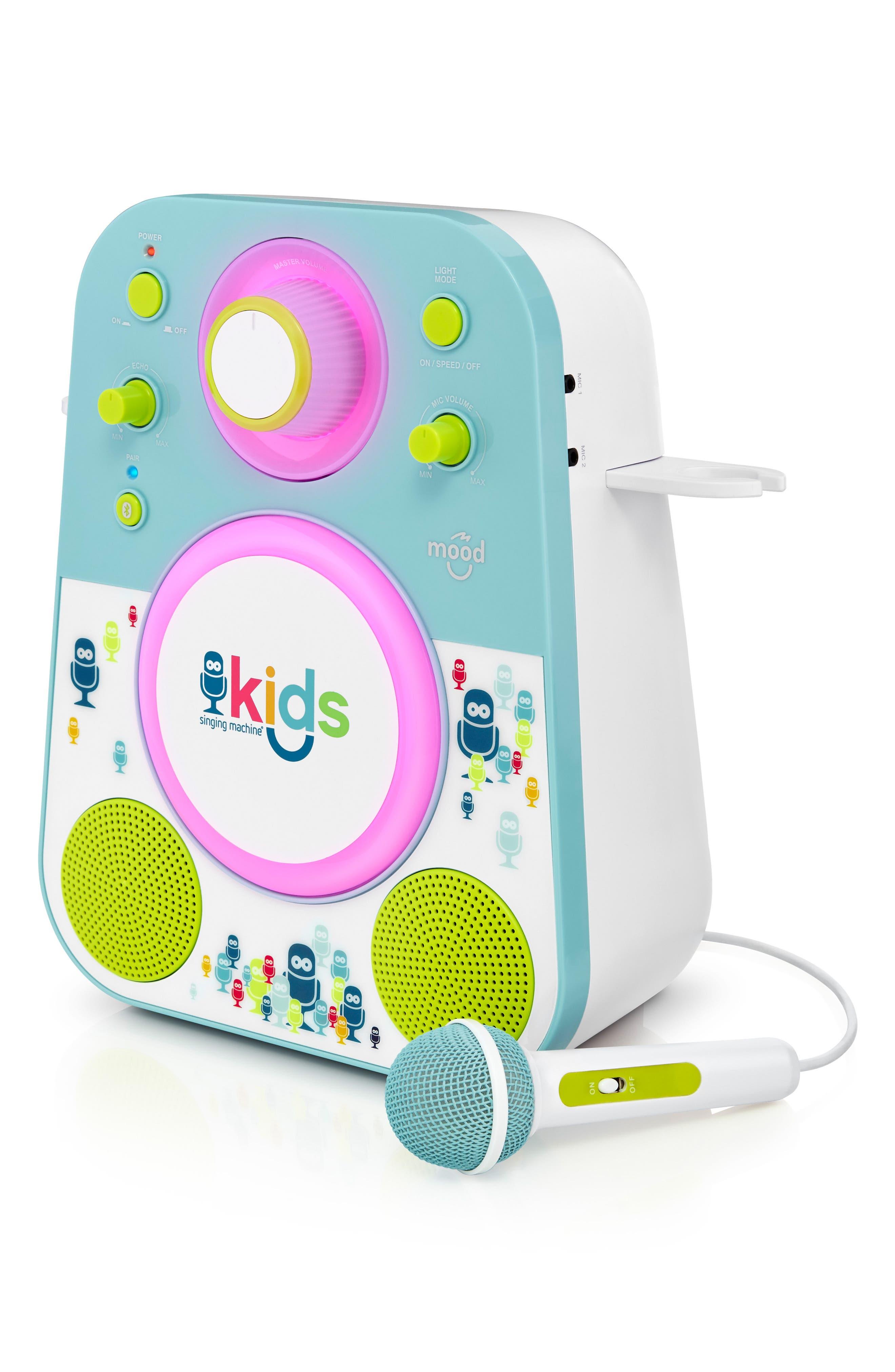 Kids Mood Karaoke System,                             Alternate thumbnail 3, color,                             BLUE GREEN