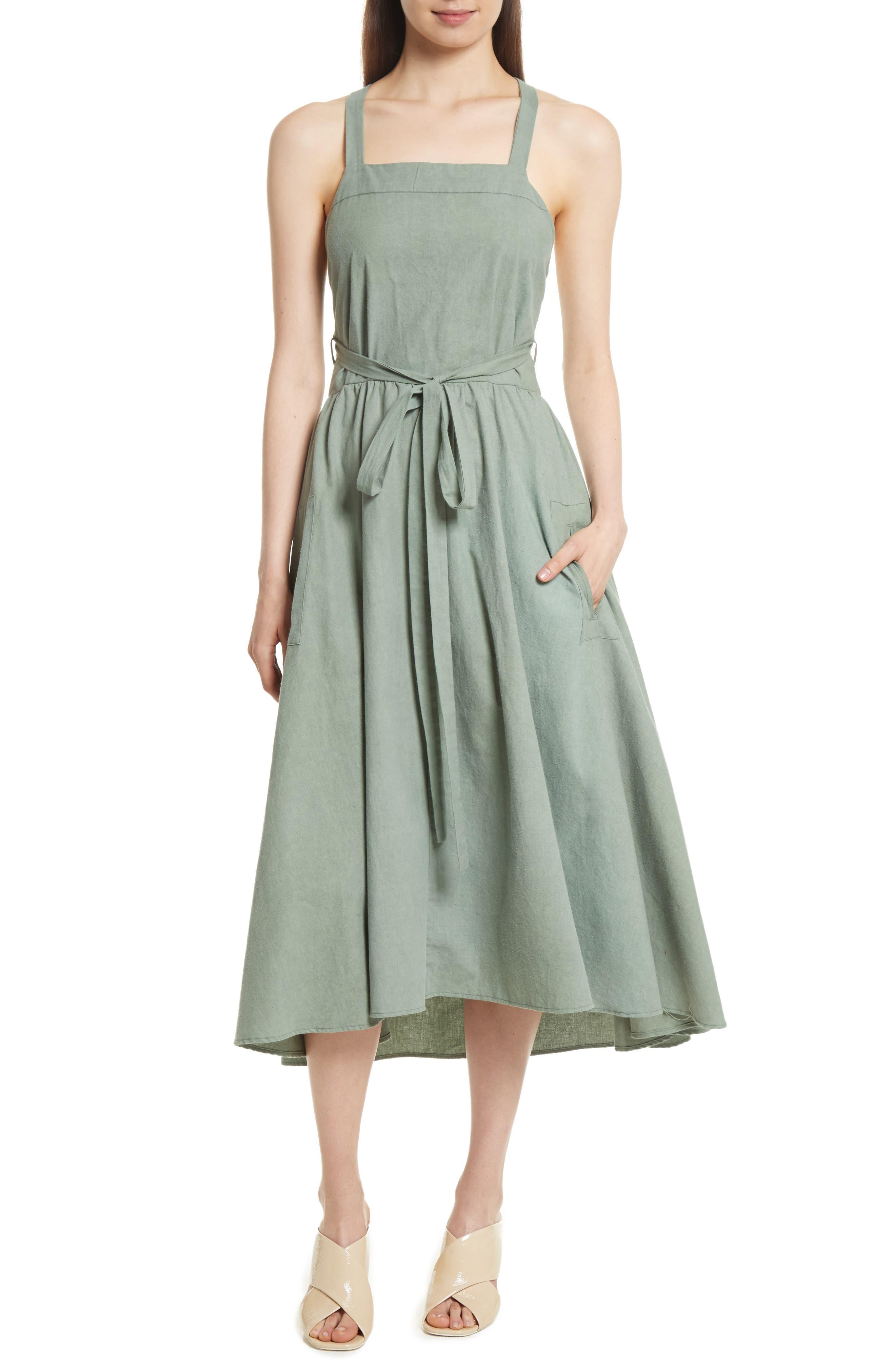 The Apron Dress,                         Main,                         color, 300