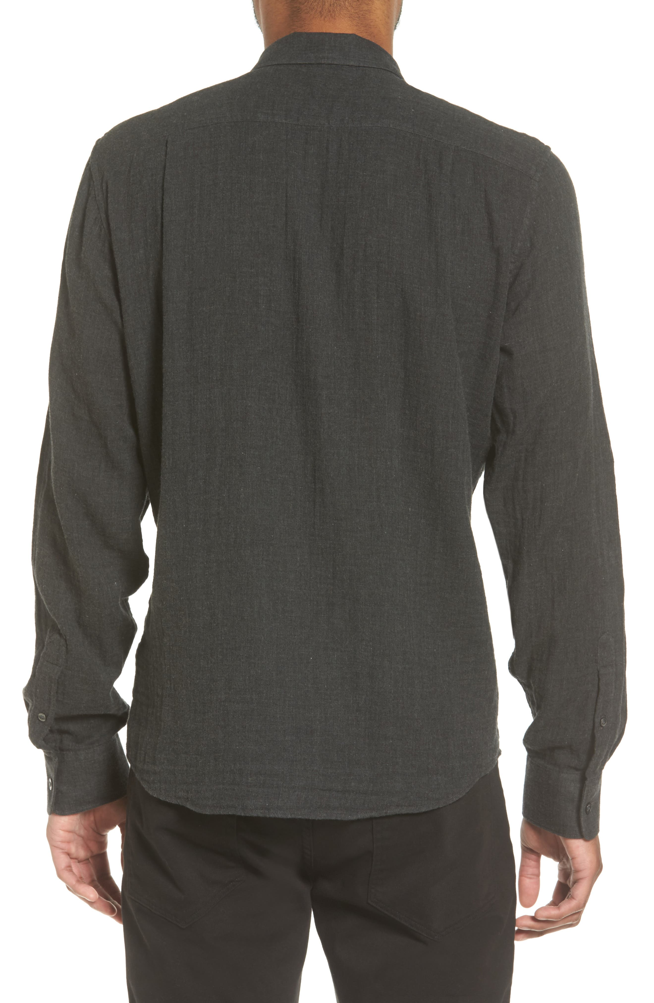 Regular Fit Solid Sport Shirt,                             Alternate thumbnail 2, color,                             008