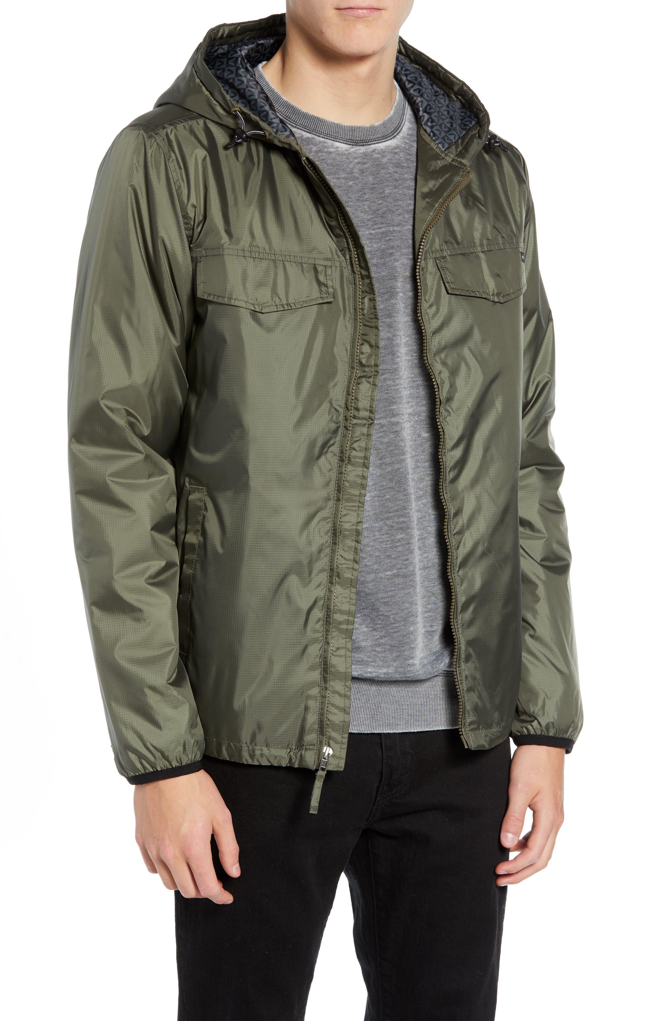 Tracer Jacket,                         Main,                         color, OLIVE