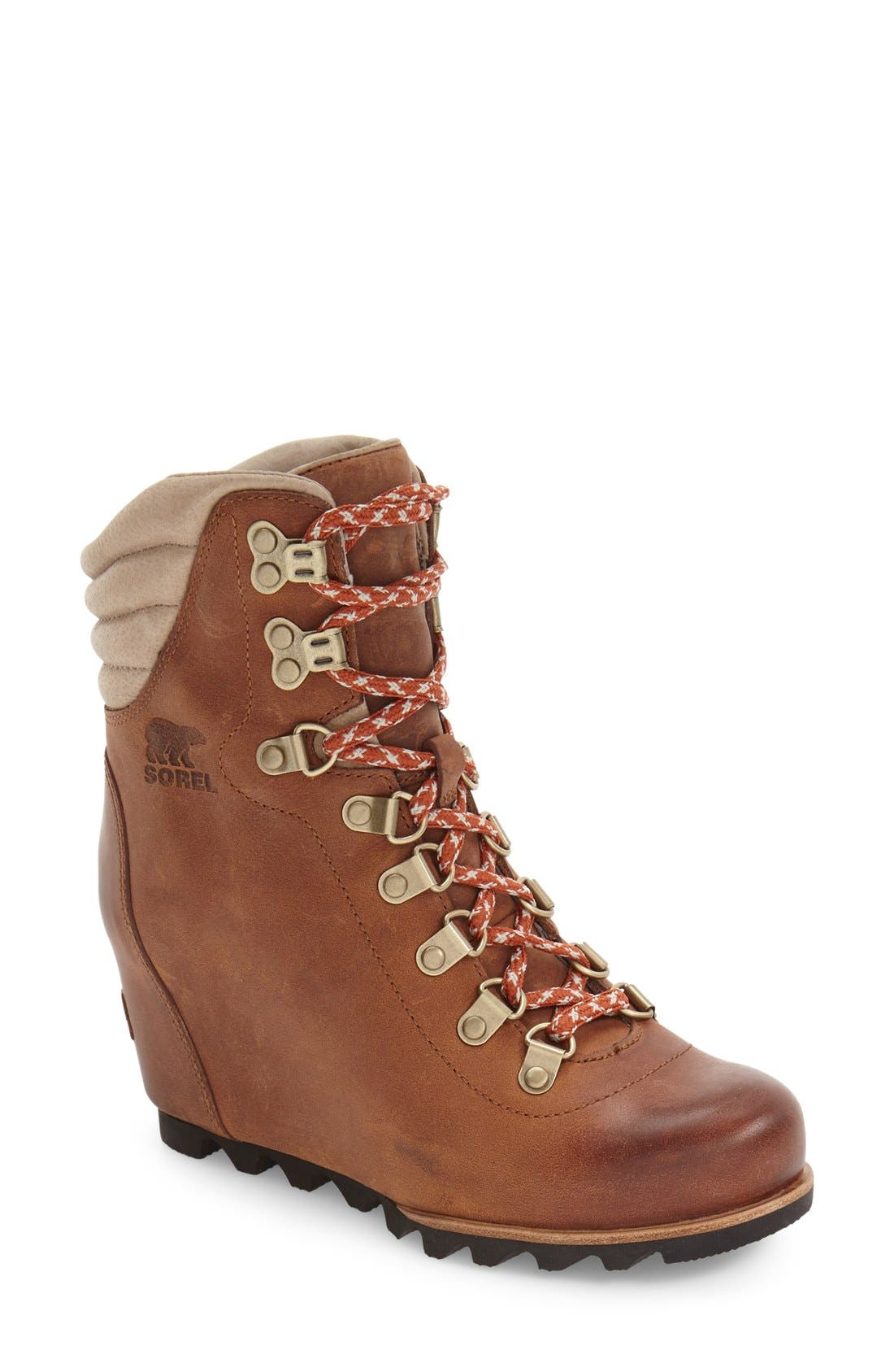 'Conquest' Waterproof Wedge Boot,                             Main thumbnail 4, color,