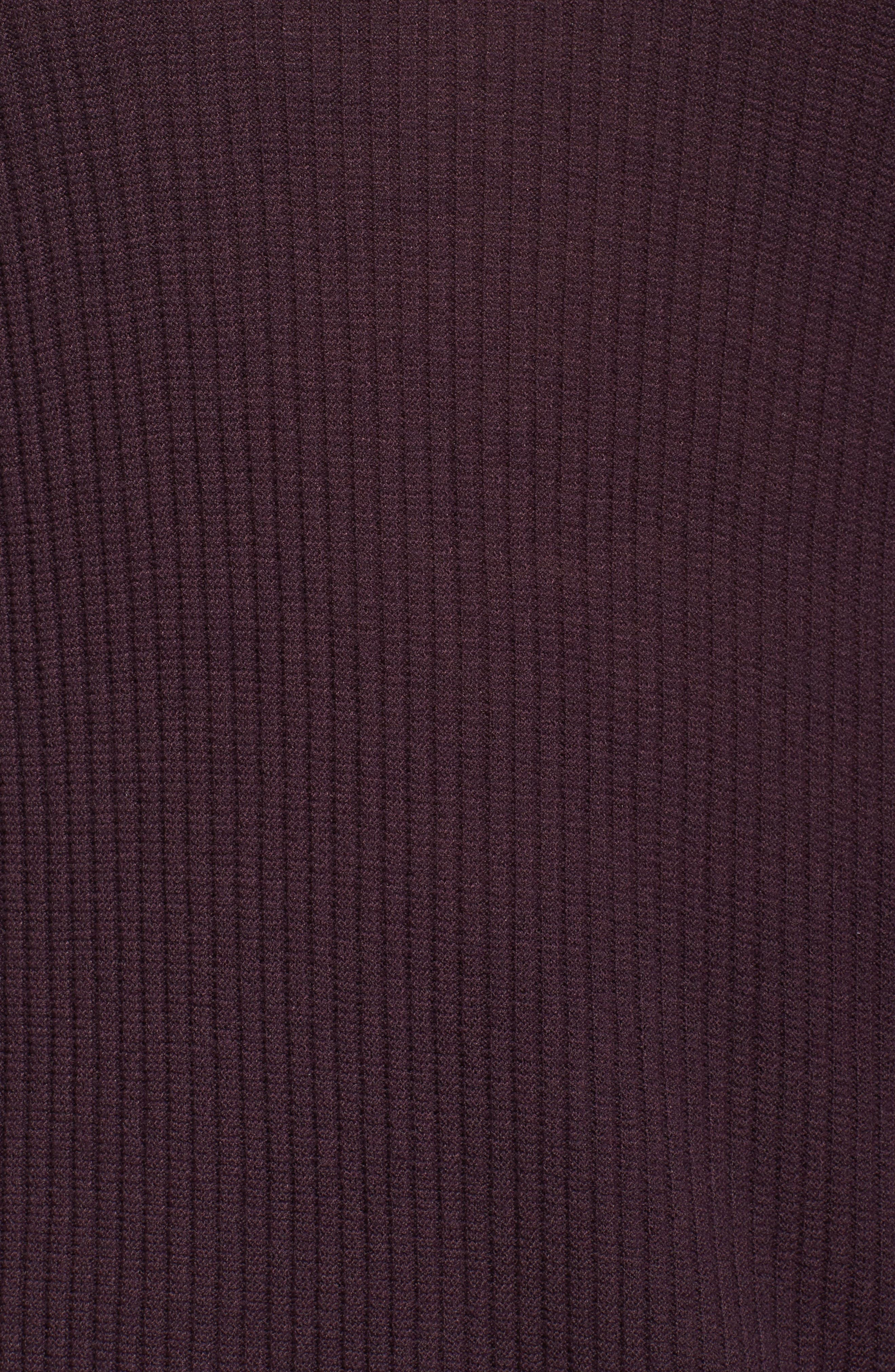 Ribbed Bell Sleeve Sweater,                             Alternate thumbnail 10, color,