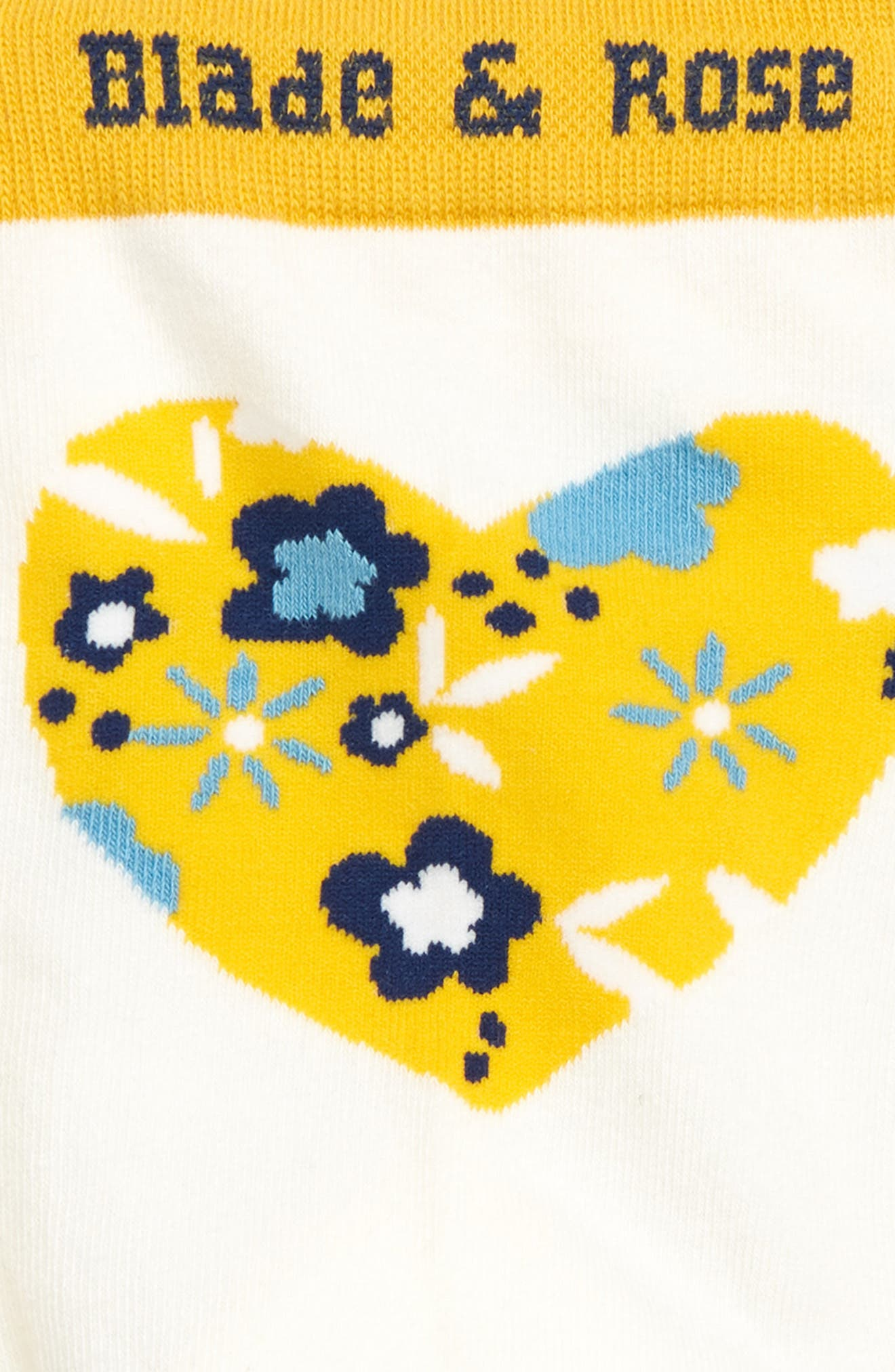 Heart Leggings,                             Alternate thumbnail 3, color,                             GREY/ BLUE/ YELLOW