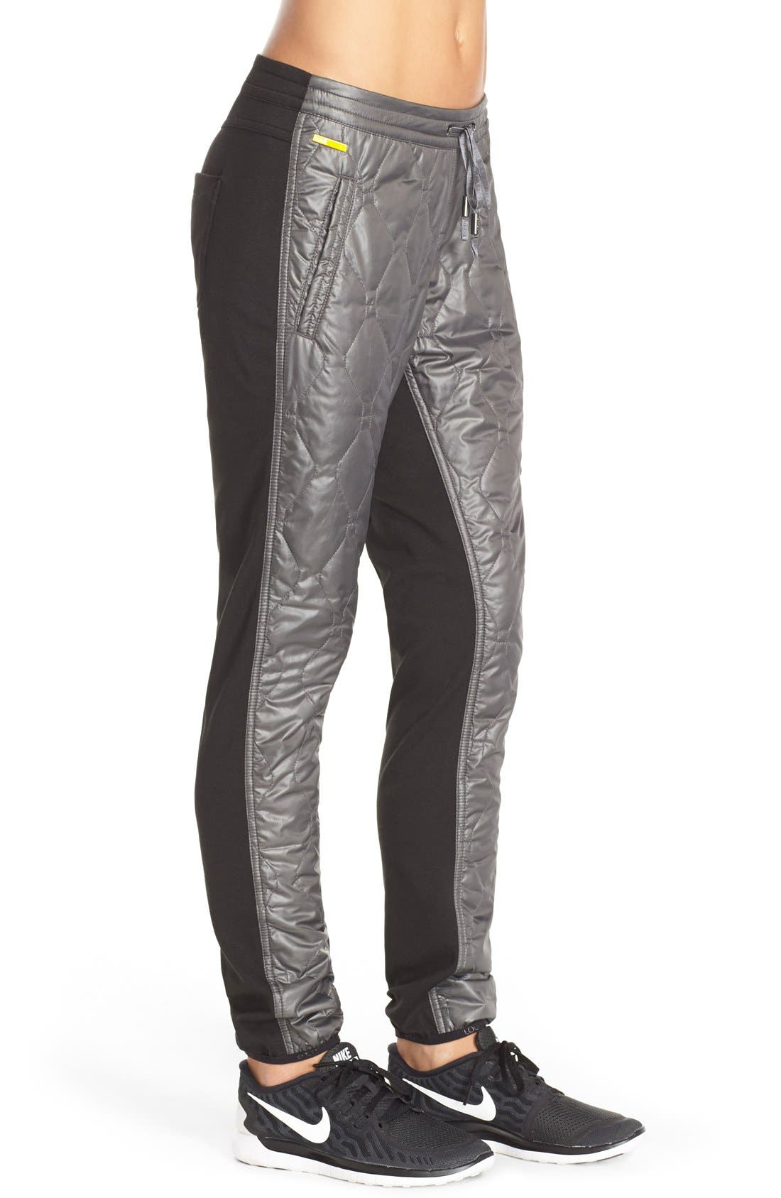 'Magic' Windproof Quilted Pants,                             Alternate thumbnail 2, color,                             020