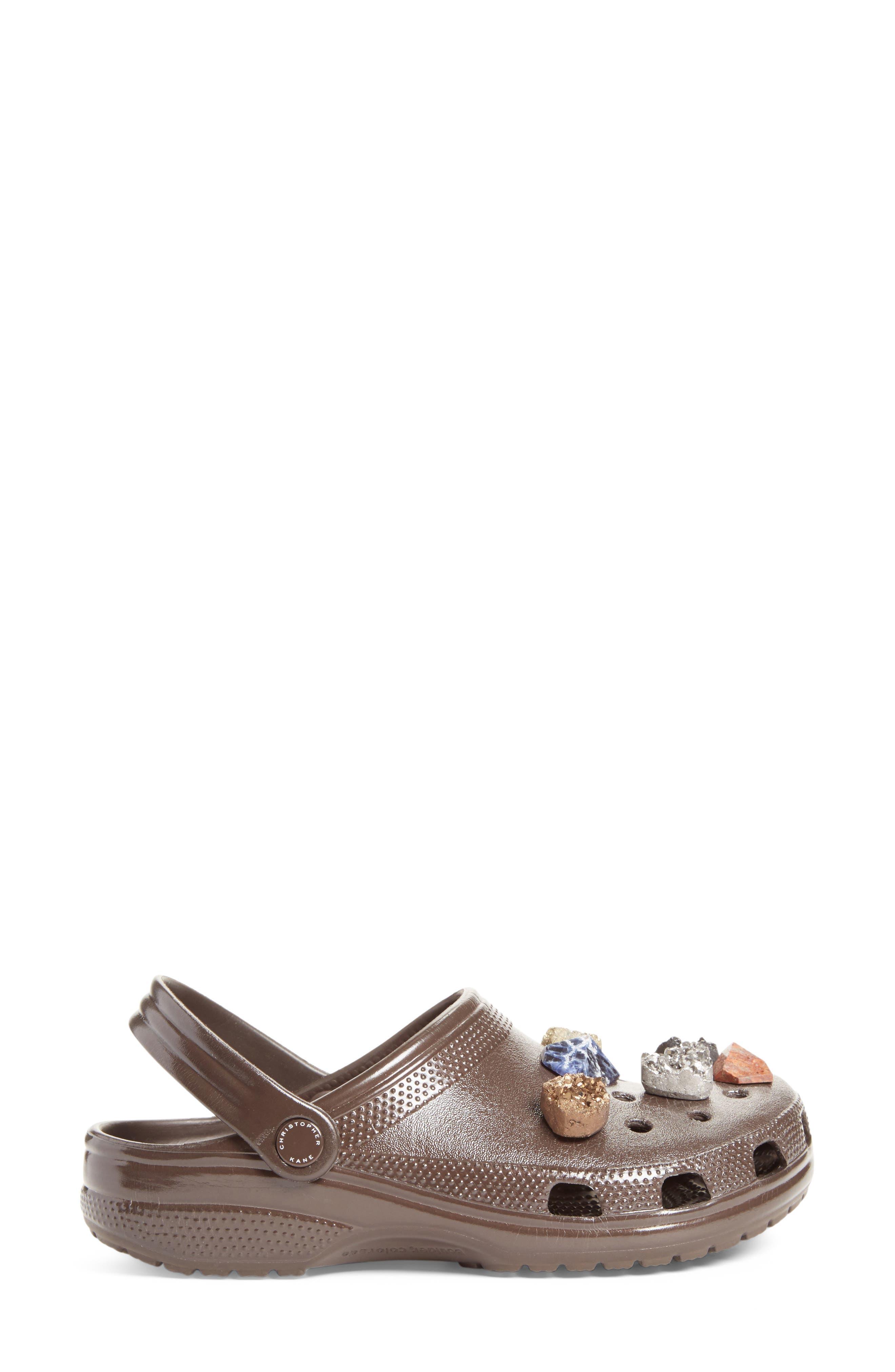 x CROCS<sup>™</sup> Multi Stone Clog Sandal,                             Alternate thumbnail 4, color,                             200