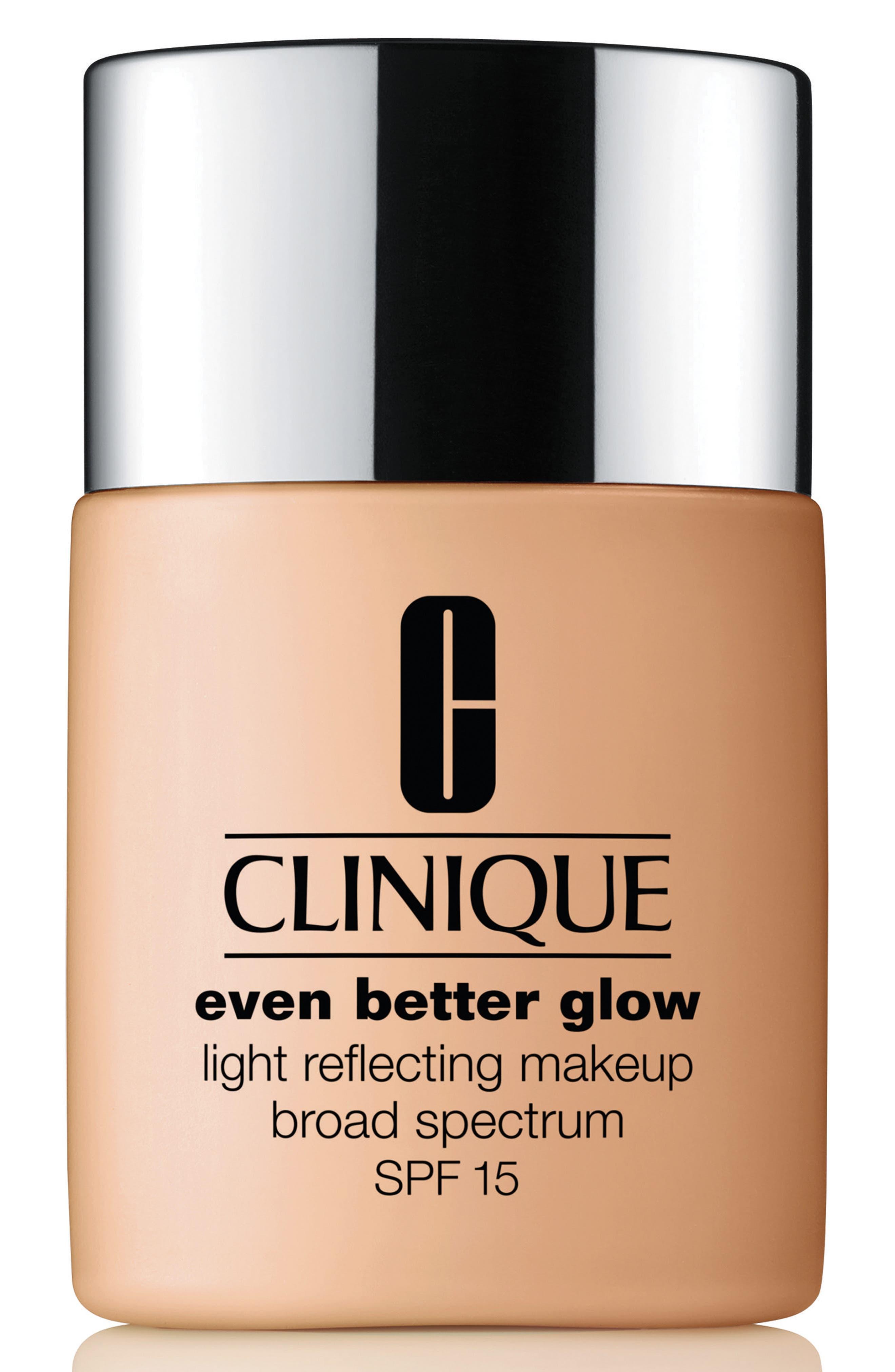 Even Better & #153 Glow Light Reflecting Makeup Broad Spectrum Spf 15, 1.0 Oz./ 30 Ml in Ecru
