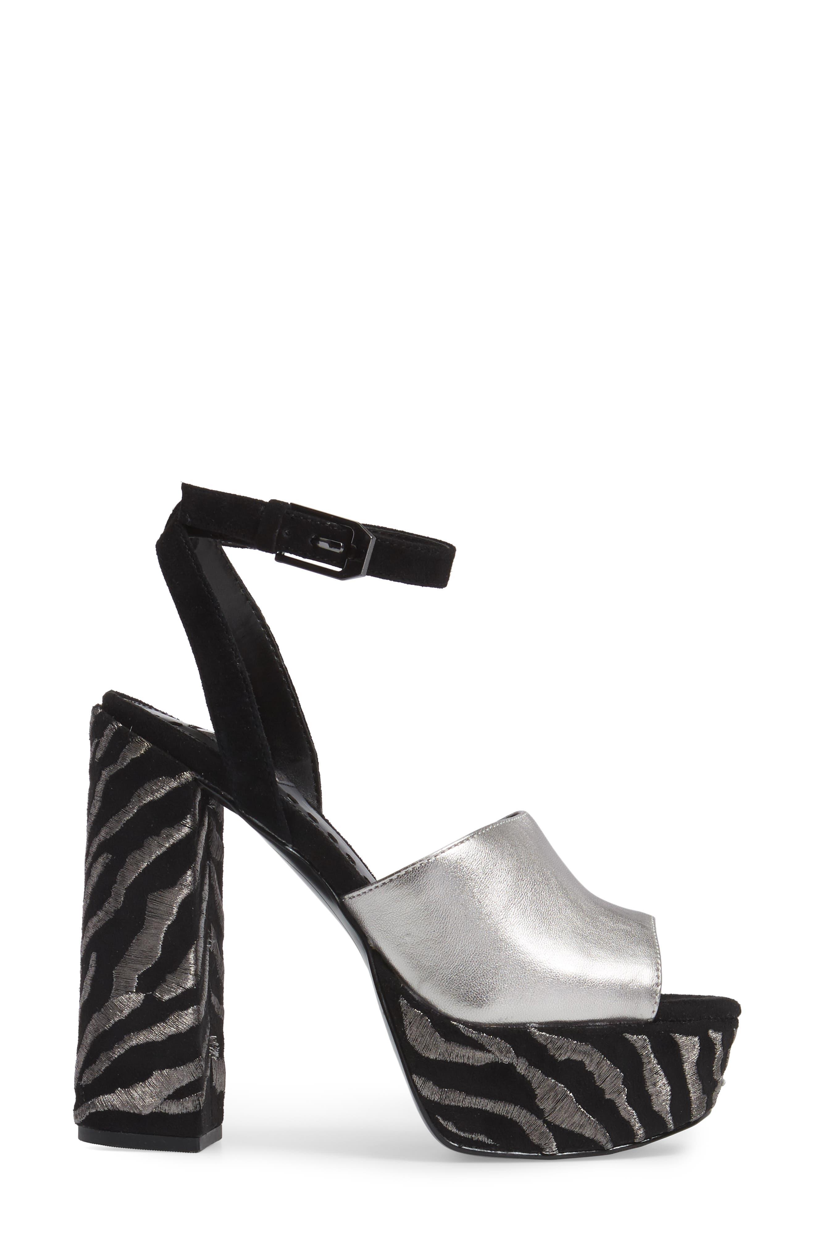 Platform Sandal,                             Alternate thumbnail 3, color,                             027