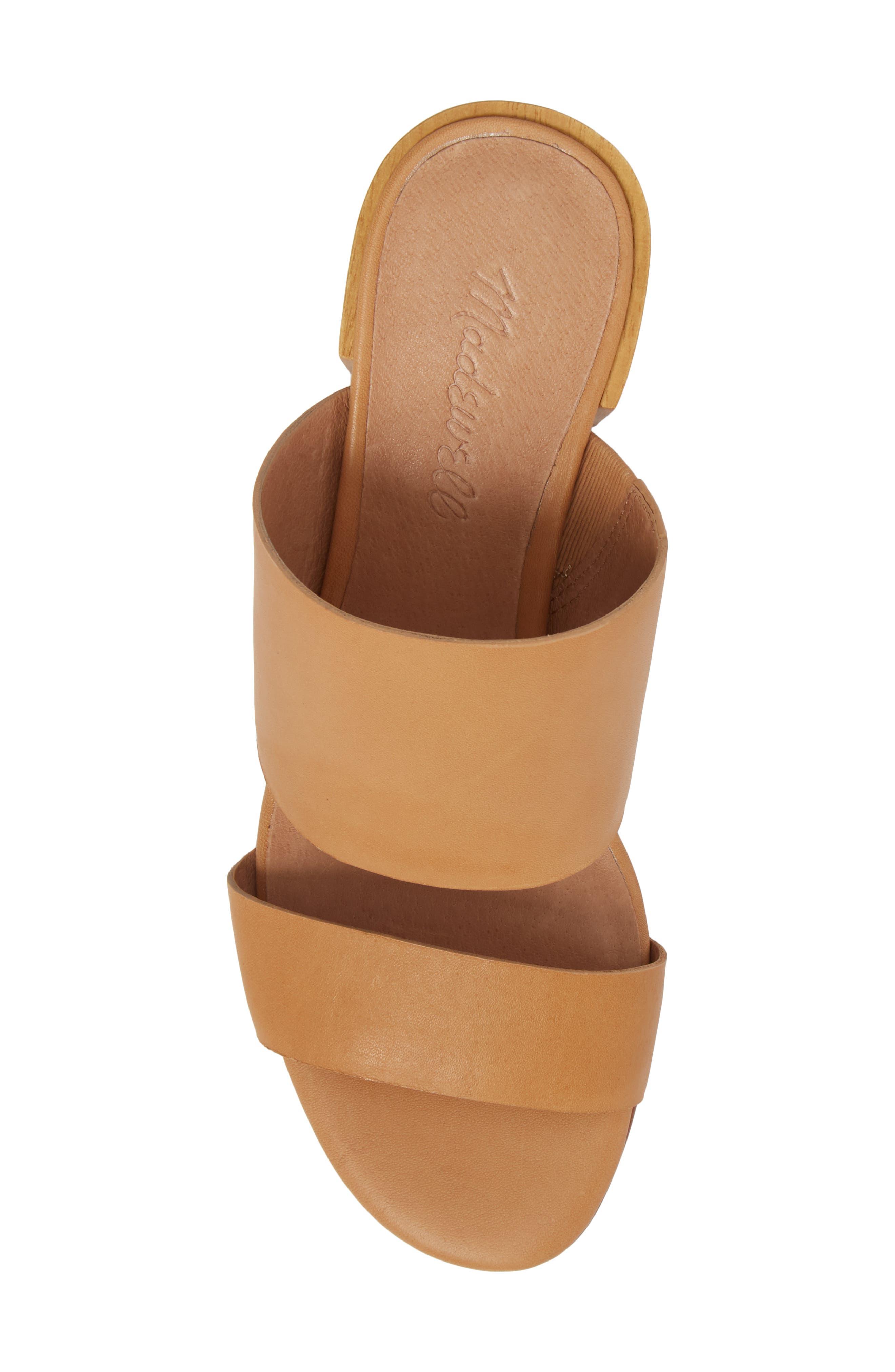 Kiera Block Heel Slide,                             Alternate thumbnail 10, color,