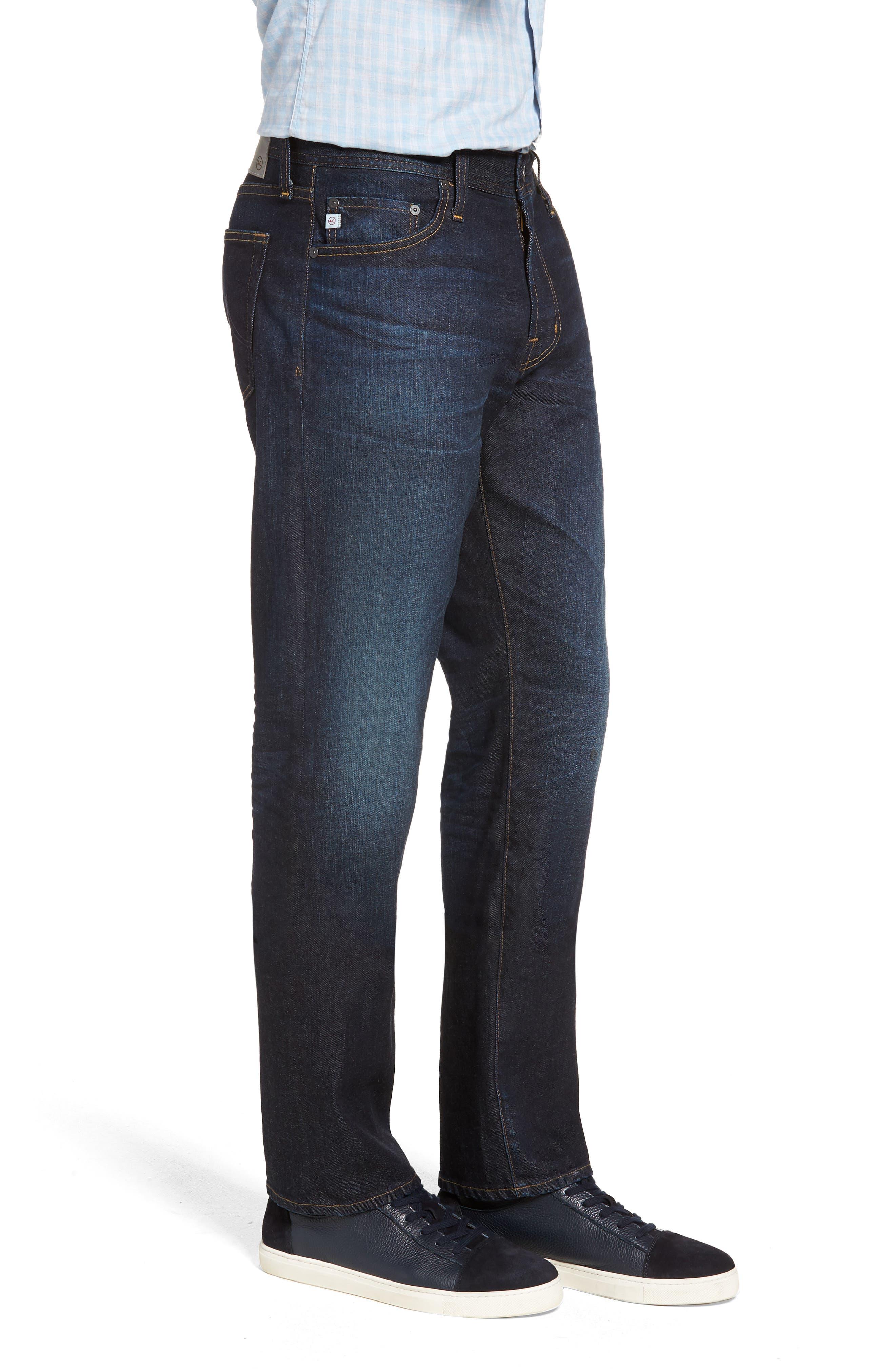 Everett Slim Straight Leg Jeans,                             Alternate thumbnail 3, color,                             5 YEARS CASINO